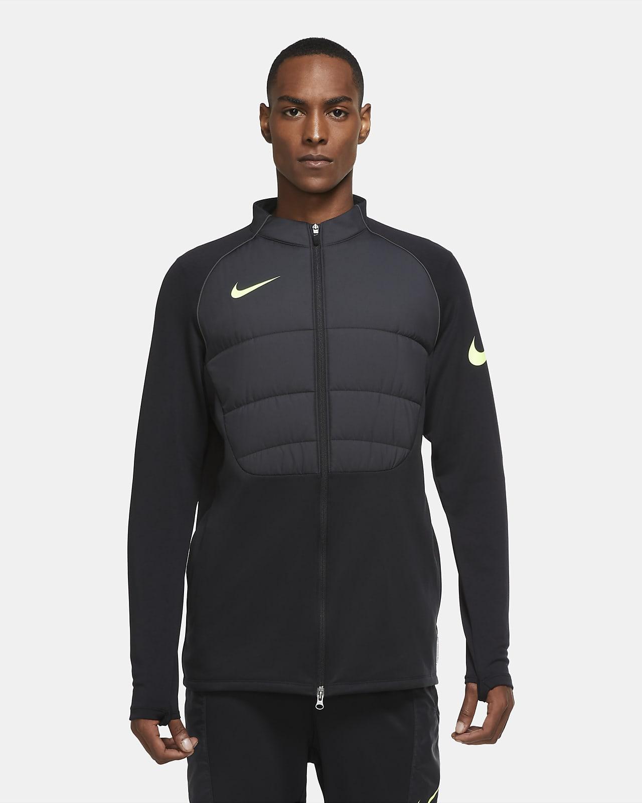 Nike Therma Strike Winter Warrior Men's Football Drill Jacket
