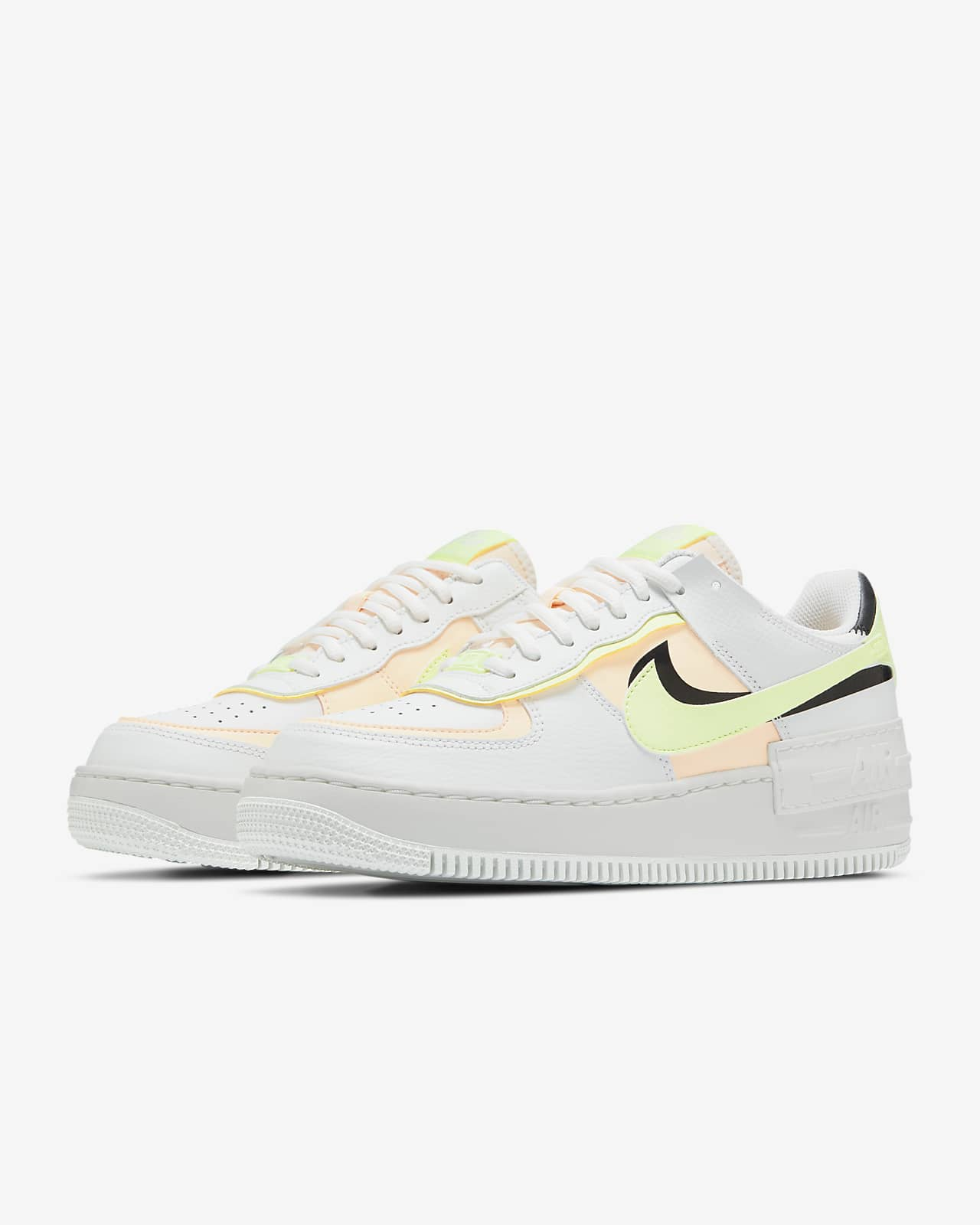 air force 1 beige e rosa