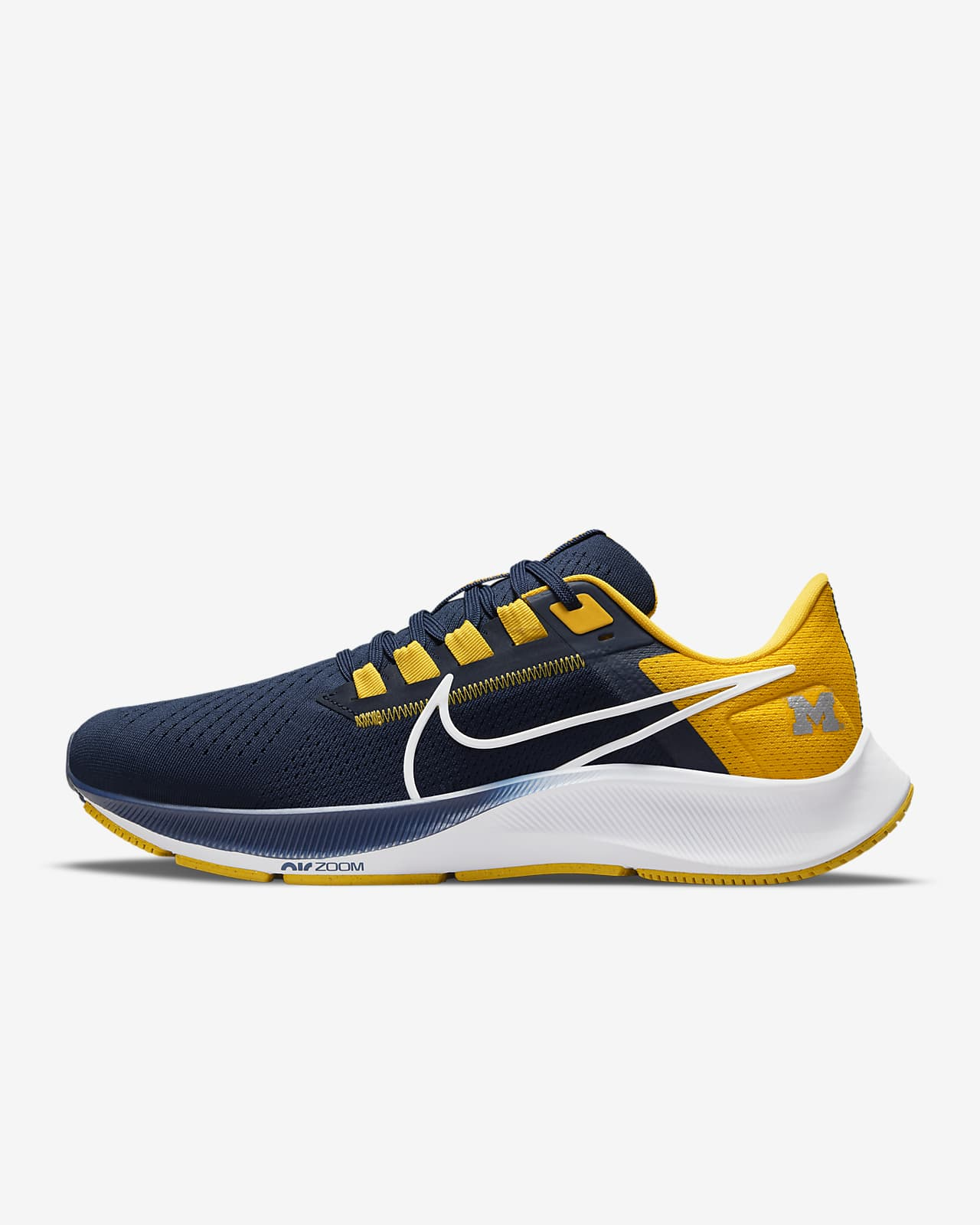 Nike College Air Zoom Pegasus 38 (Michigan) Running Shoe