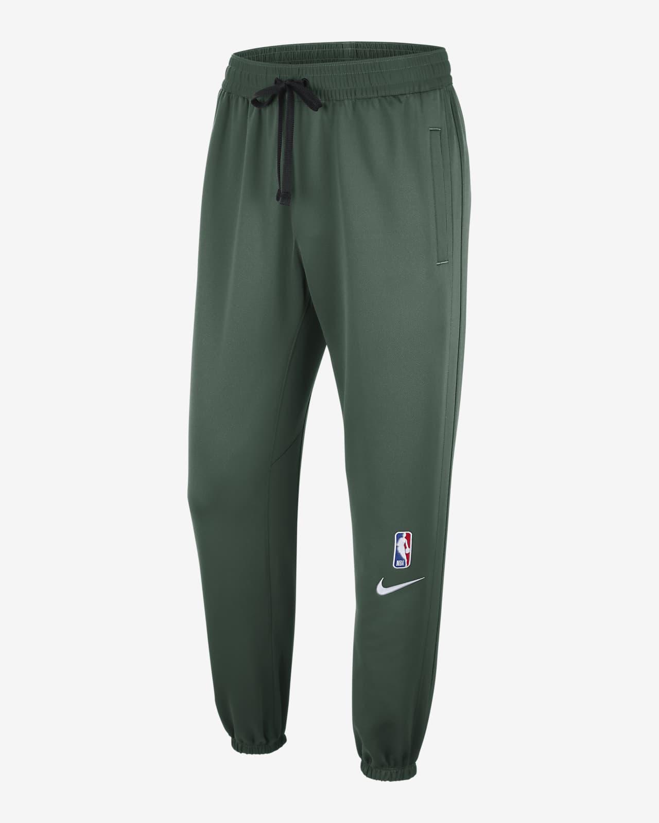 Pantalones de la NBA de Nike Therma Flex para hombre Milwaukee Bucks Showtime