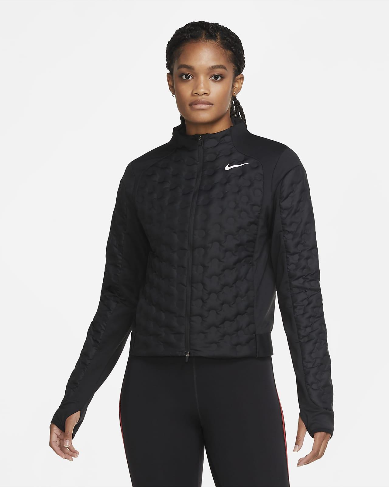 Chamarra de running para mujer Nike Aeroloft