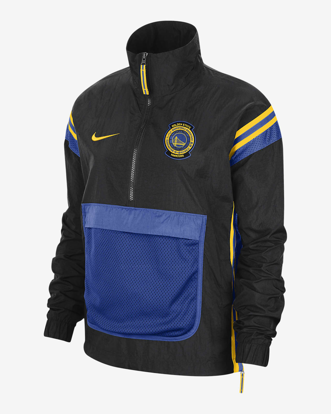 Warriors Courtside Women's Nike NBA Tracksuit Jacket