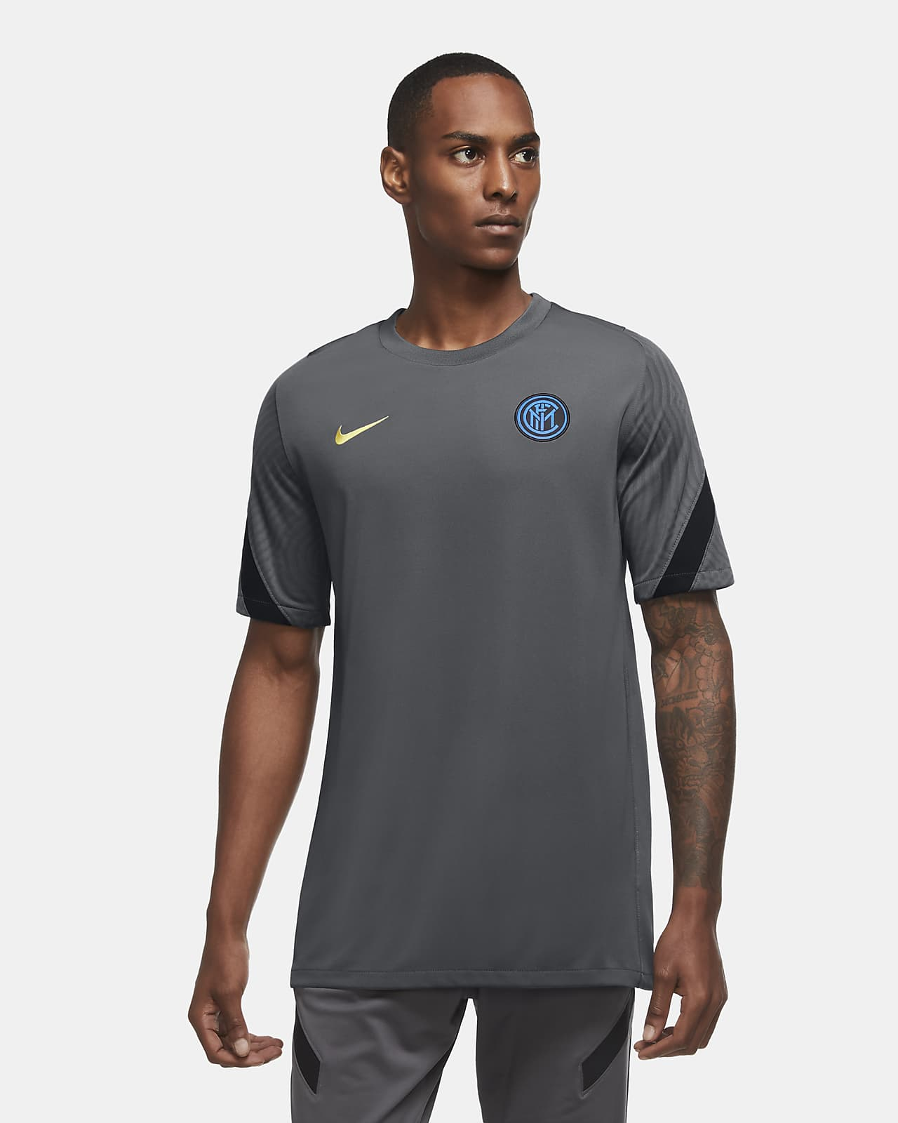 Inter Milan Strike Men's Short-Sleeve Football Top