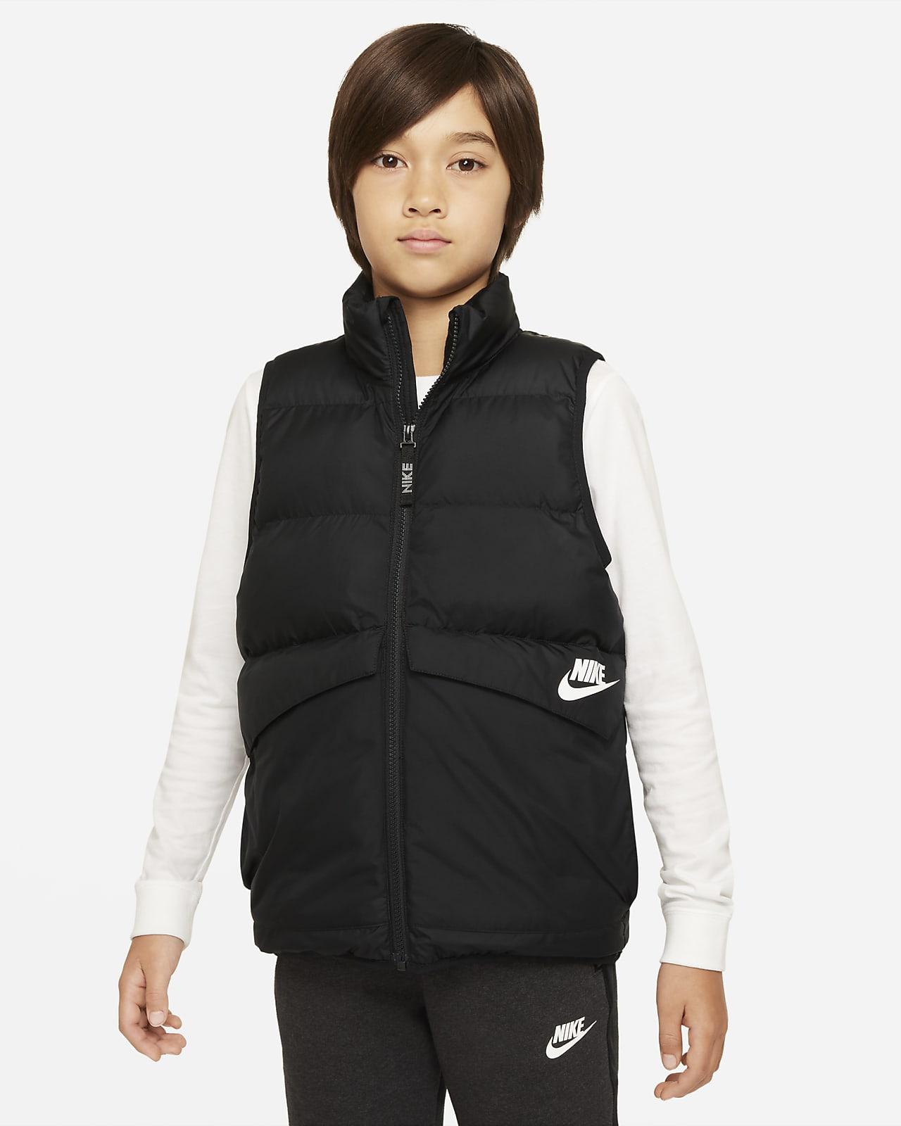 Αμάνικο τζάκετ με συνθετικό γέμισμα Nike Sportswear για μεγάλα παιδιά