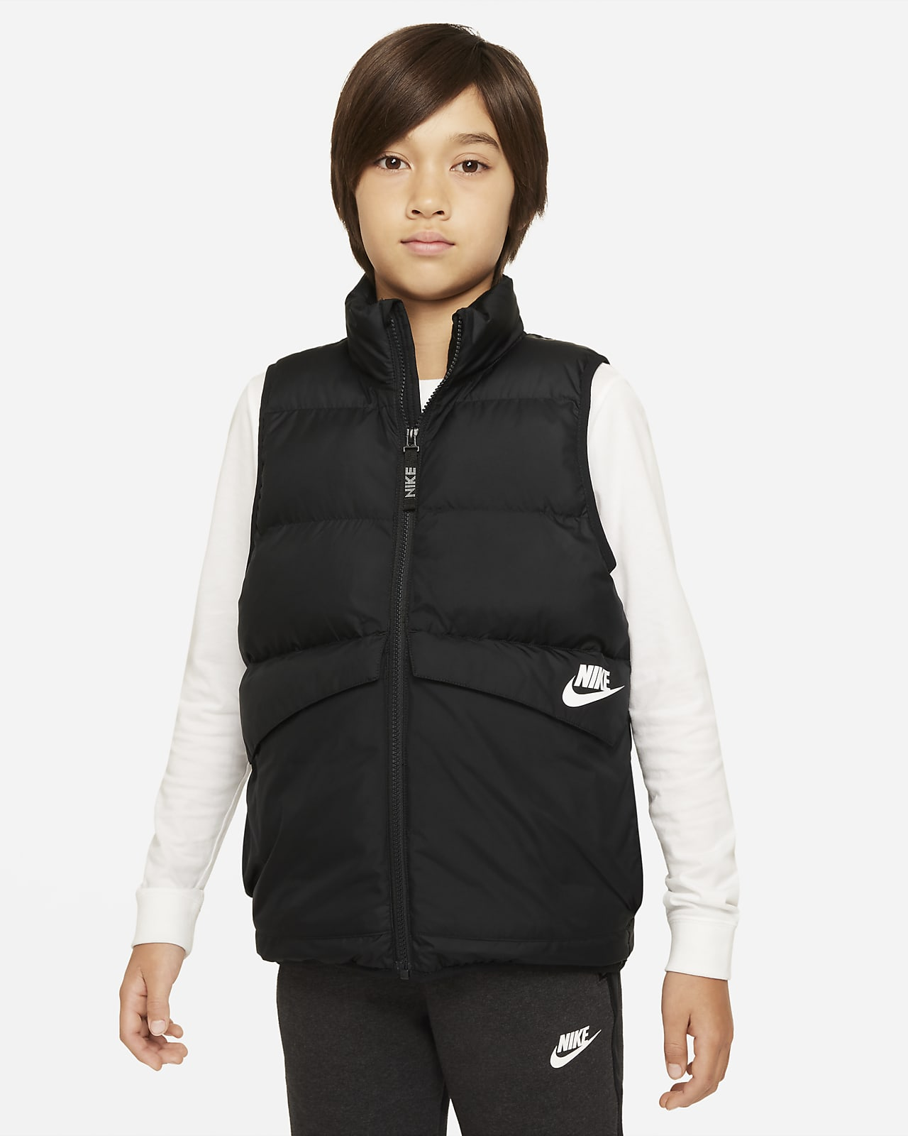 Colete com enchimento sintético Nike Sportswear Júnior