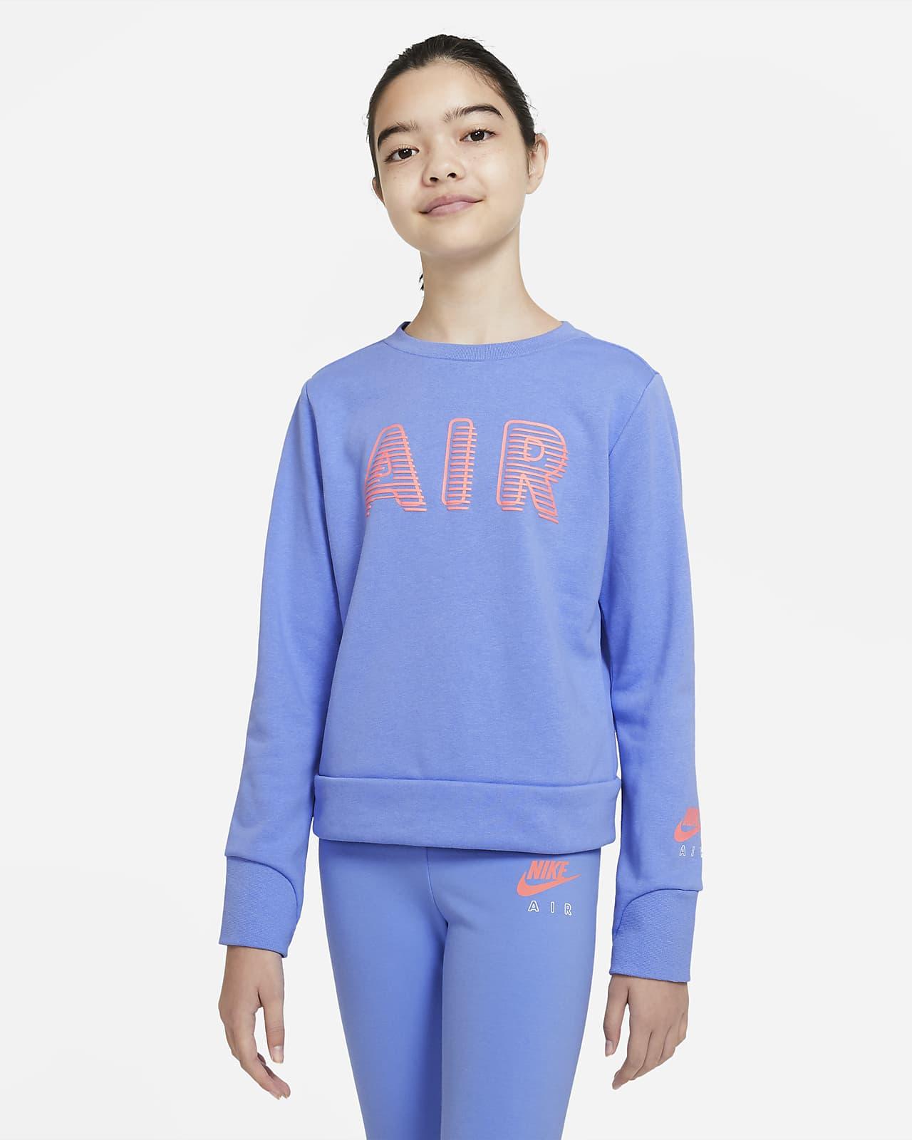 Nike Air 大童(女孩)圆领上衣