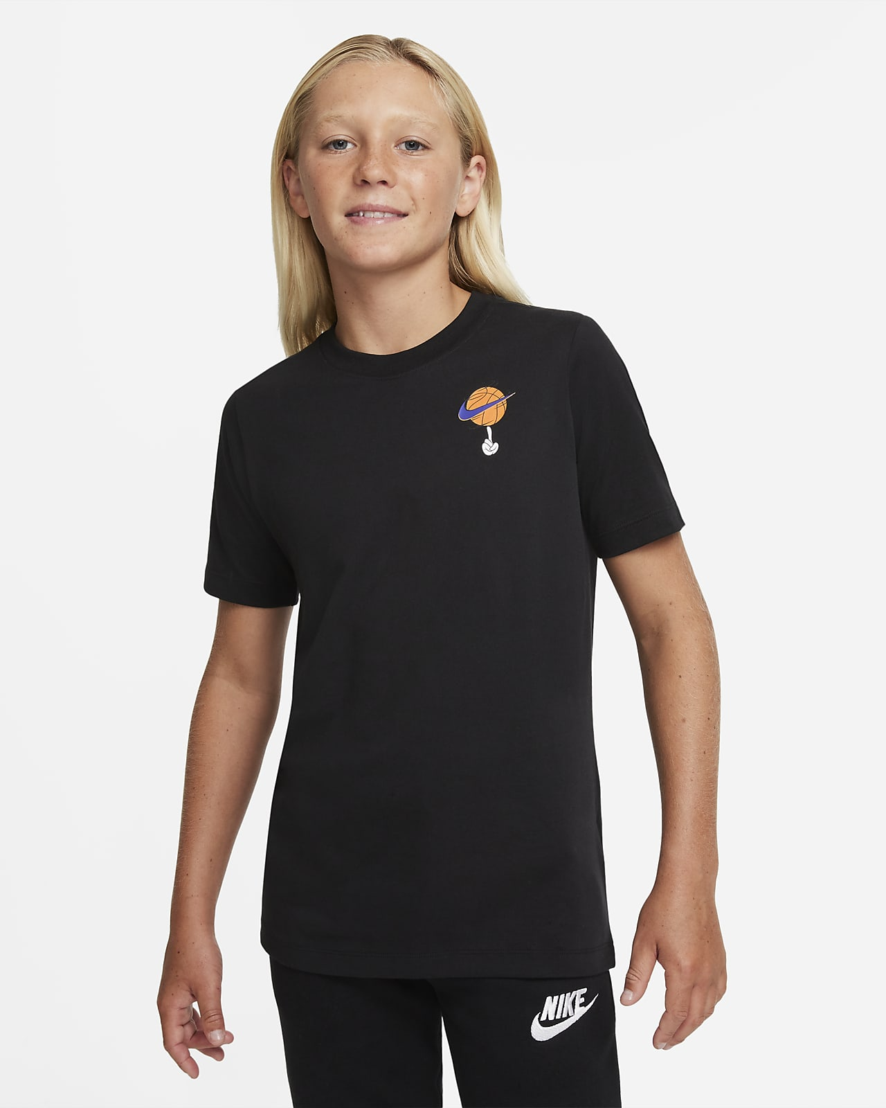 T-shirt de treino Nike Dri-FIT x Space Jam: A New Legacy Júnior