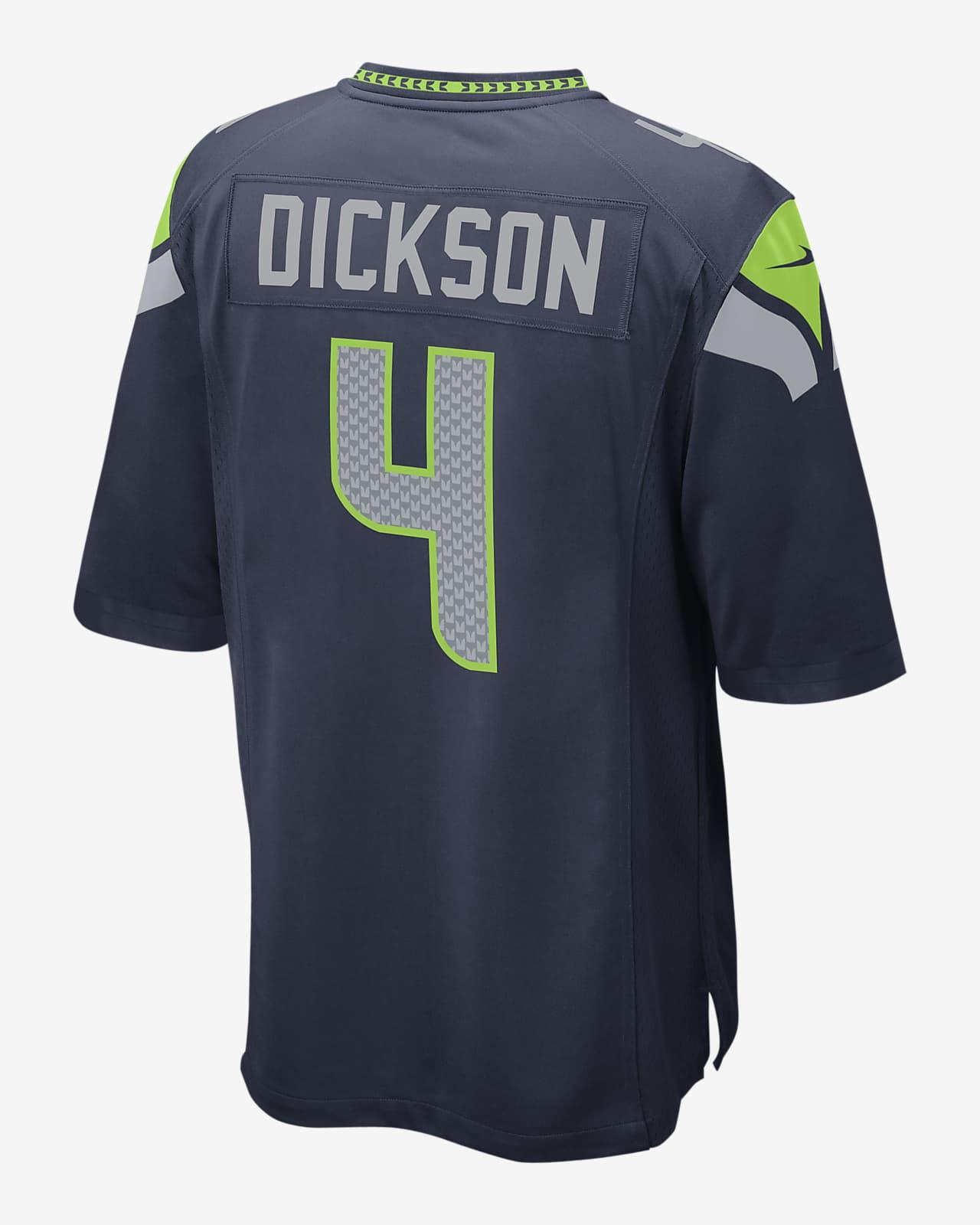 NFL Seattle Seahawks (Michael Dickson) Men's Game Football Jersey