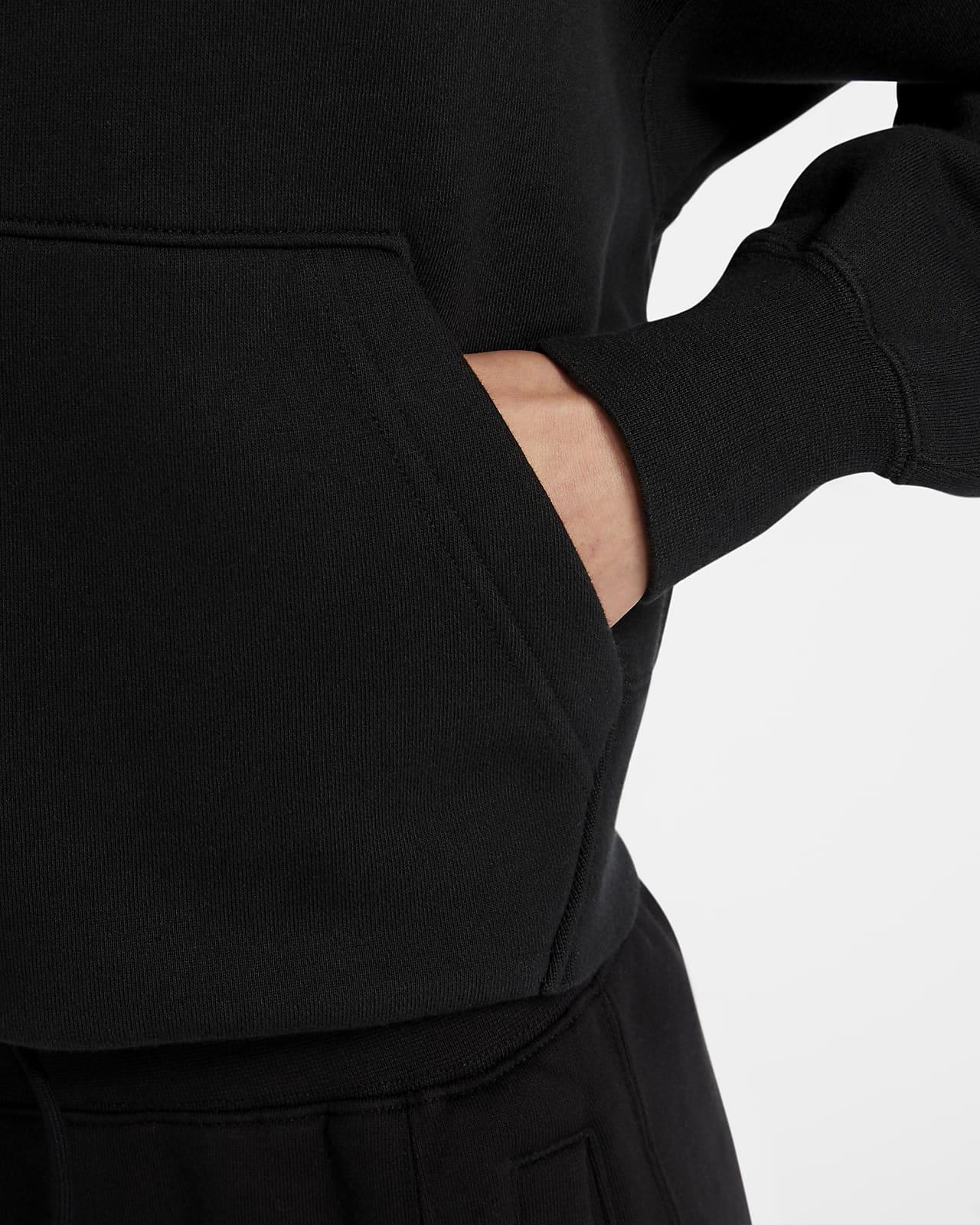 Sweat à capuche en tissu Fleece Jordan Flight pour Femme