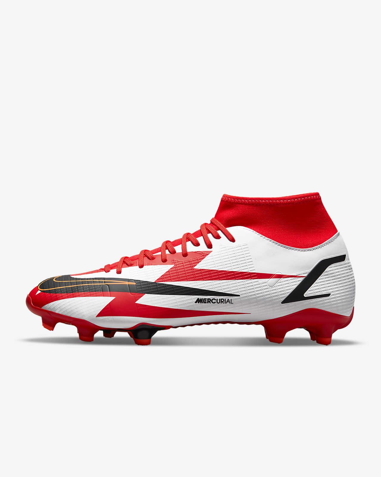 รองเท้าสตั๊ดฟุตบอลสำหรับพื้นหลายประเภท Nike Mercurial Superfly 8 Academy CR7 MG