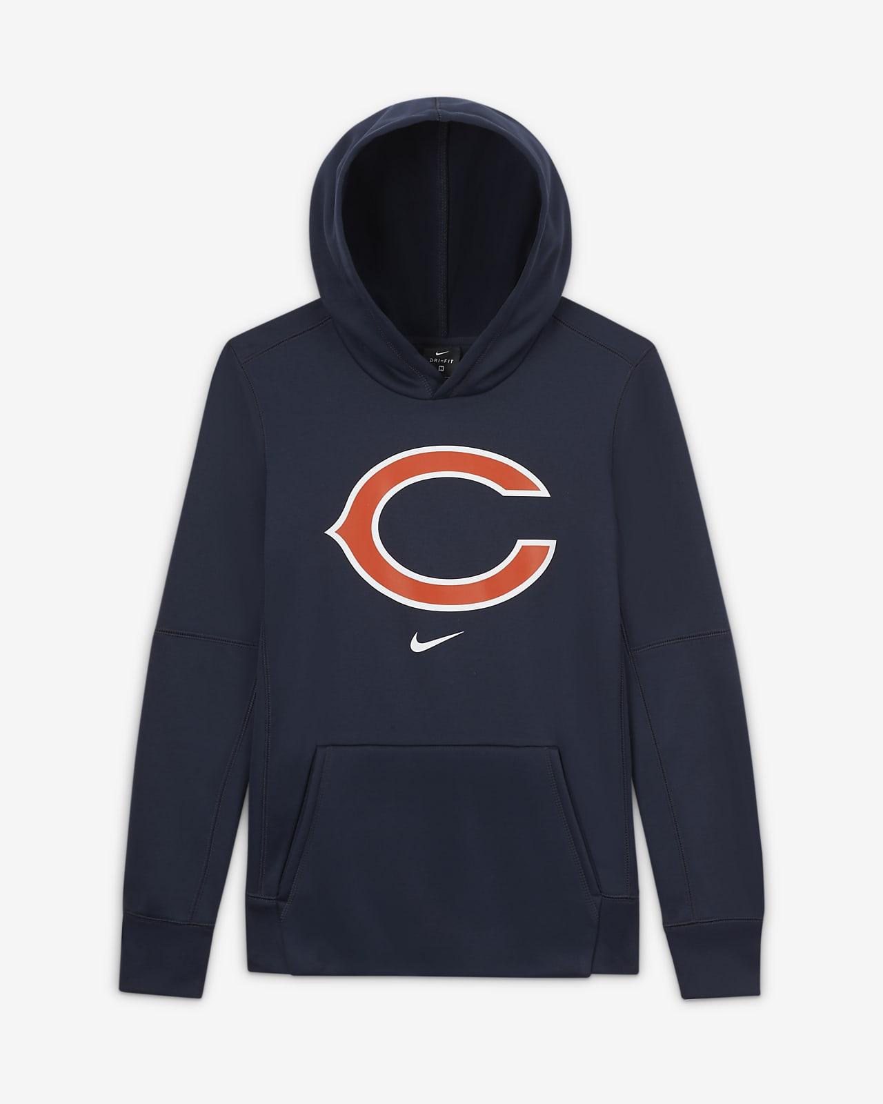 Sweat à capuche avec logo Nike Essential Chicago Bears pour Garçon plus âgé