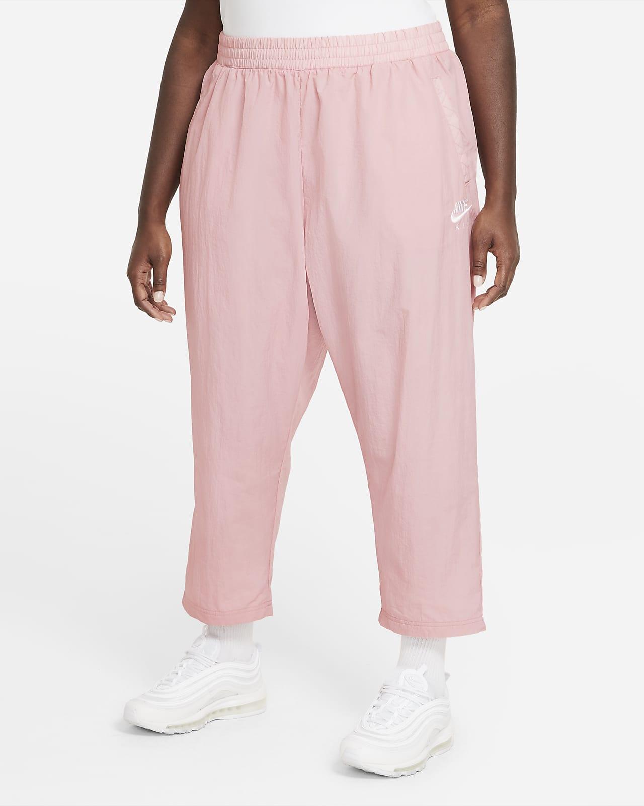 Damskie spodnie z tkaniny (duże rozmiary) Nike Air
