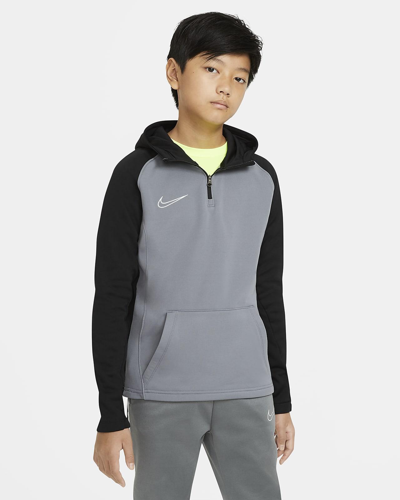 Nike Dri FIT Academy Fußball Drill Hoodie mit HALKfa
