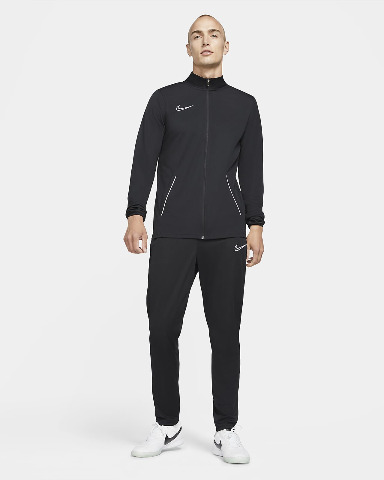 Conjunto de entrenamiento tejido de fútbol para hombre Nike Dri-FIT Academy