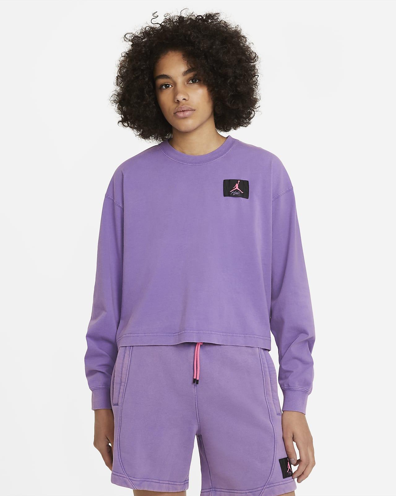 Tee-shirt ample à manches longues Jordan Essential pour Femme