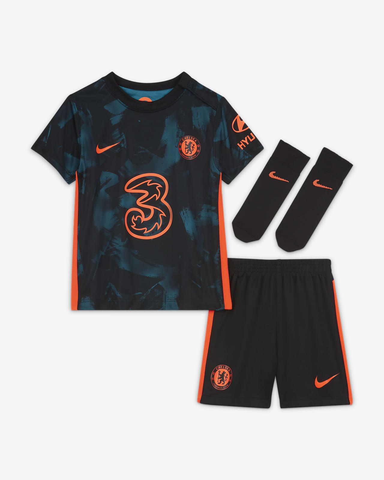 Divisa da calcio Dri-FIT Chelsea FC 2021/2022 per neonati/bimbi piccoli - Terza