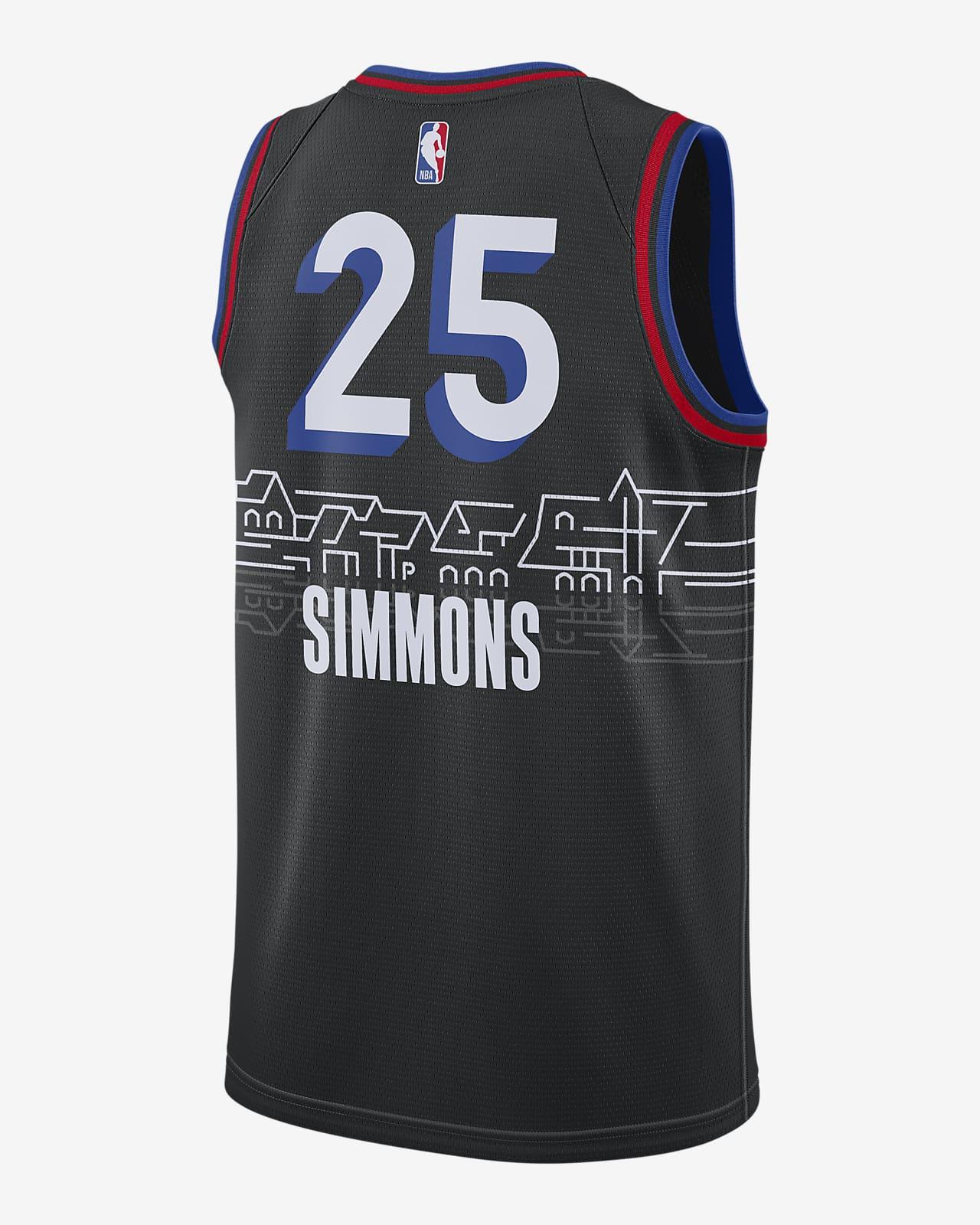 Philadelphia 76ers City Edition Nike Nba Swingman Jersey Nike Com