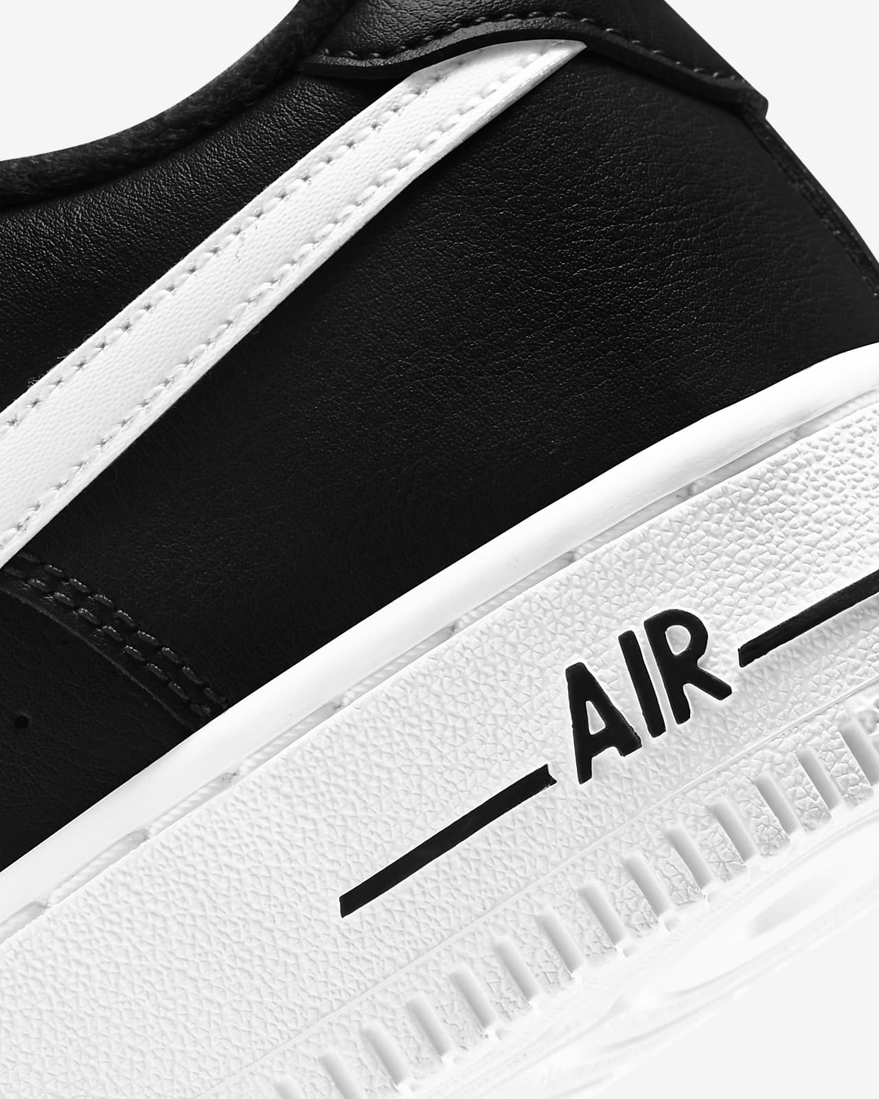 air force 1 blanca y negra