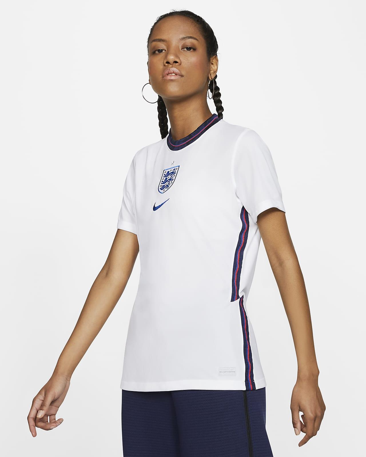 Женское футбольное джерси из домашней формы сборной Англии 2020 Stadium