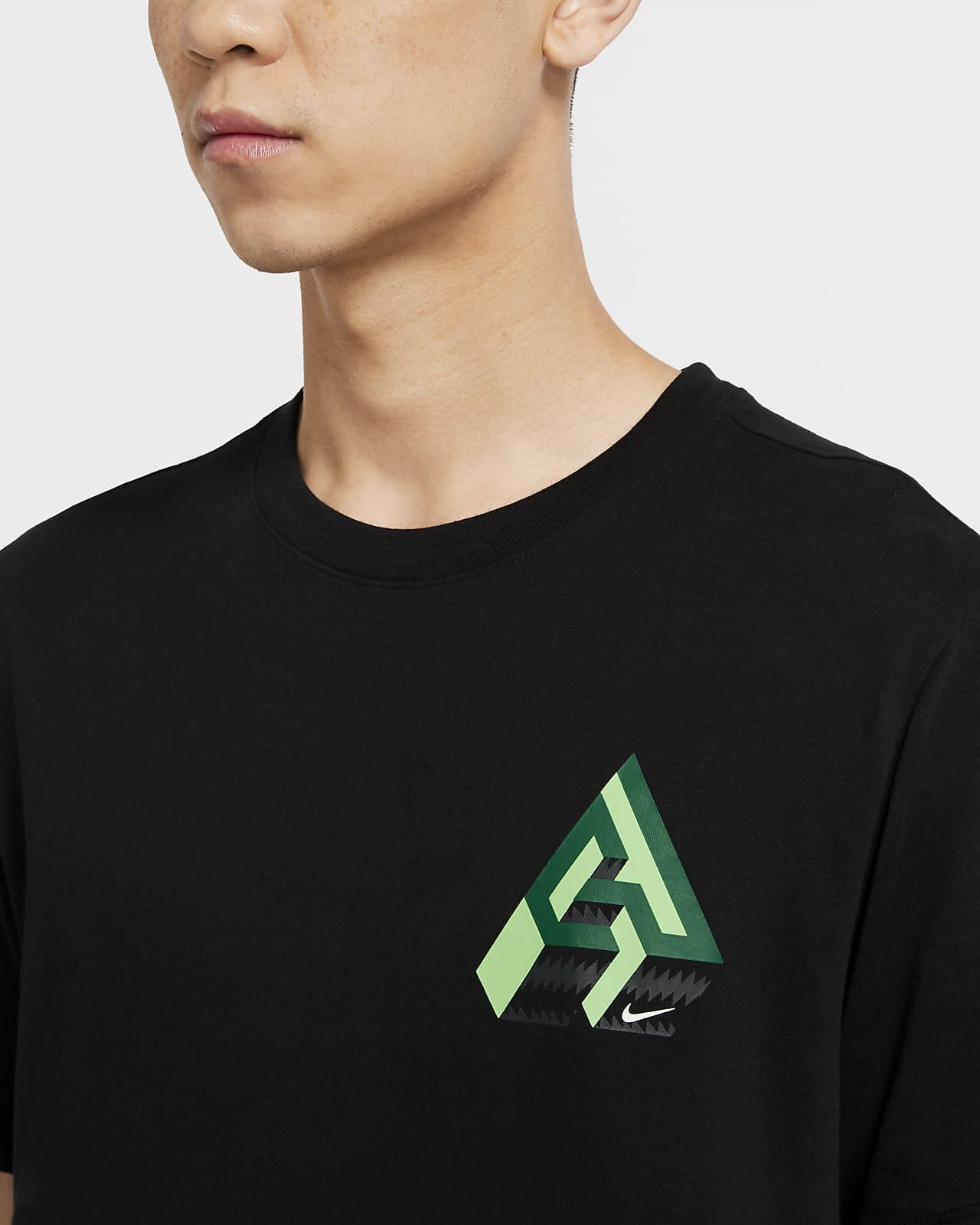 Tee shirt de basketball Nike Dri FIT Giannis Logo Naija pour Homme