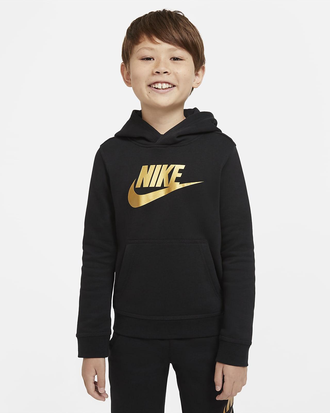 Mikina Nike Sportswear Club Fleece s kapucí pro větší děti