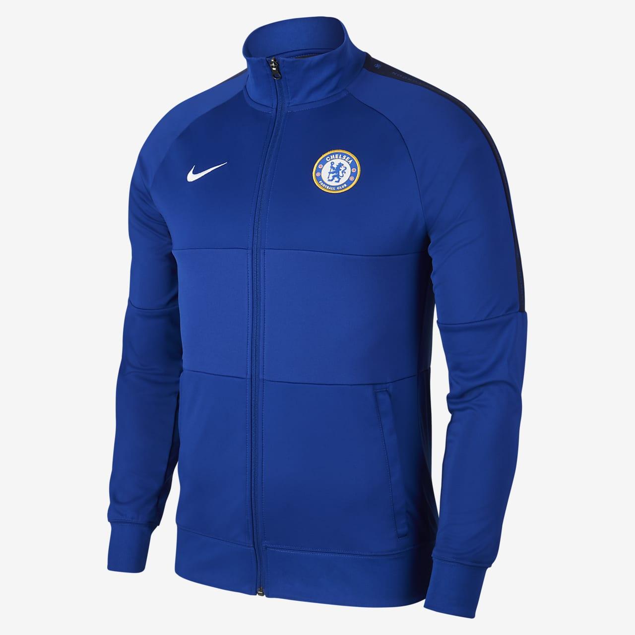 Chamarra de entrenamiento de fútbol para hombre Chelsea FC