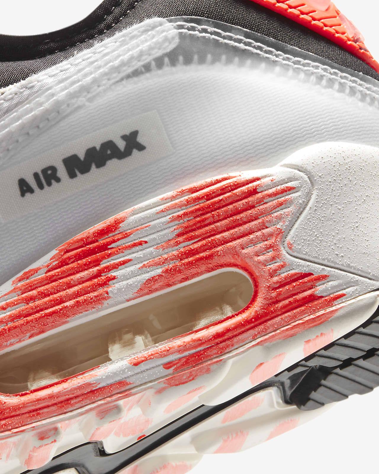 nike air max 90 mens red