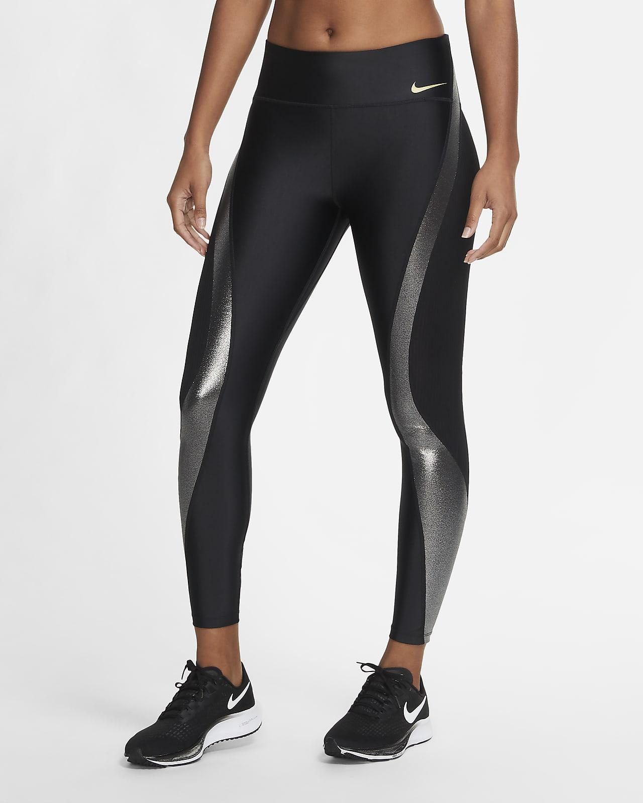 Женские слегка укороченные тайтсы для бега Nike Icon Clash Speed