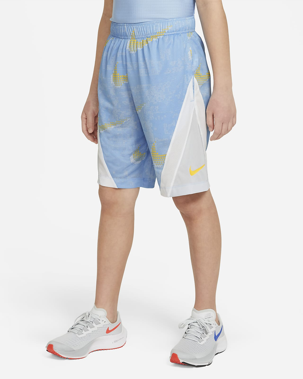 Nike Dominate Big Kids' (Boys') Printed Training Shorts