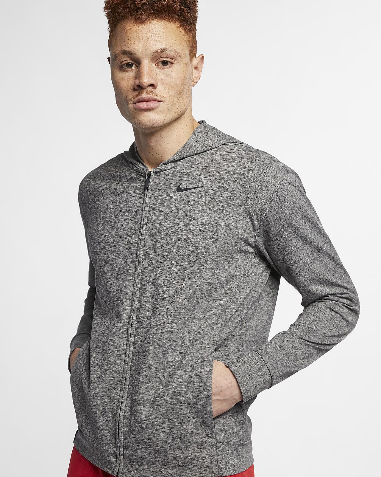 Felpa da yoga con cappuccio e zip a tutta lunghezza Nike Dri-FIT - Uomo