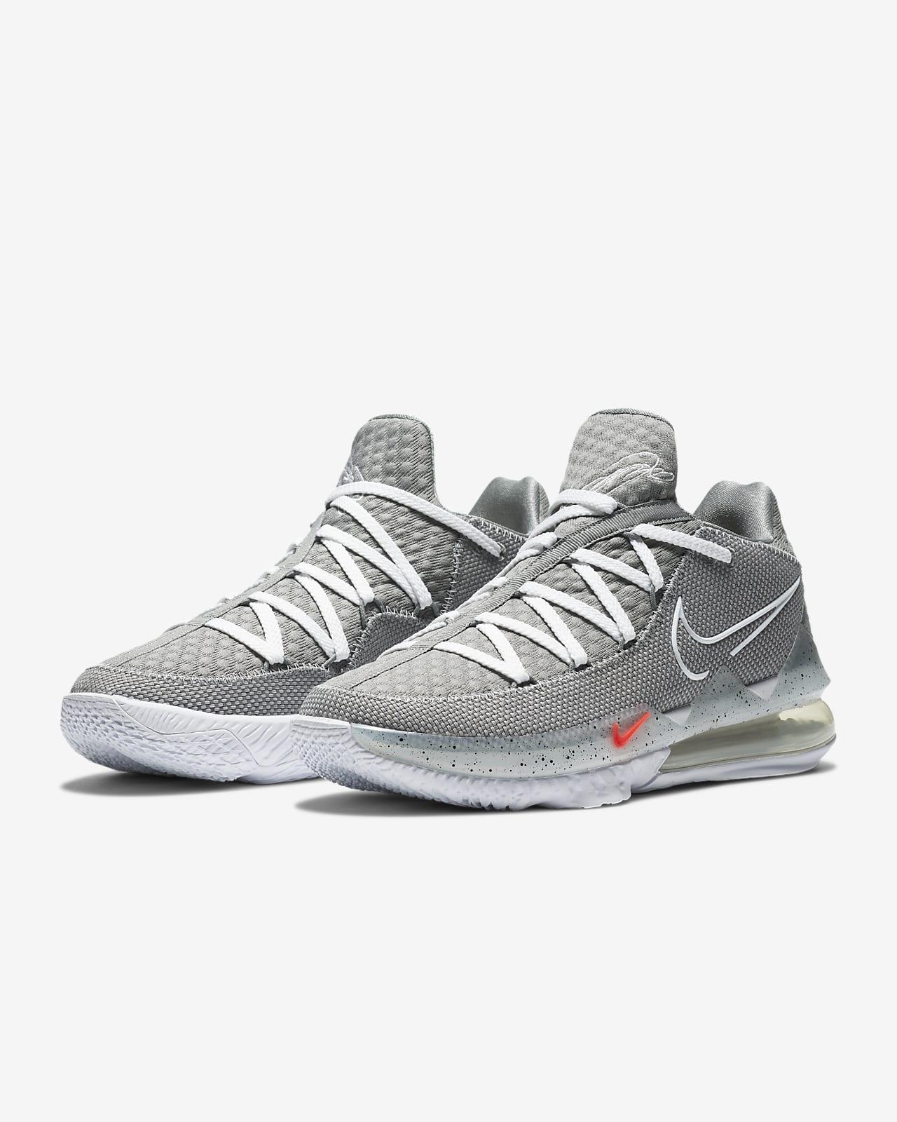 LeBron 17 Low Basketball Shoe. Nike BE