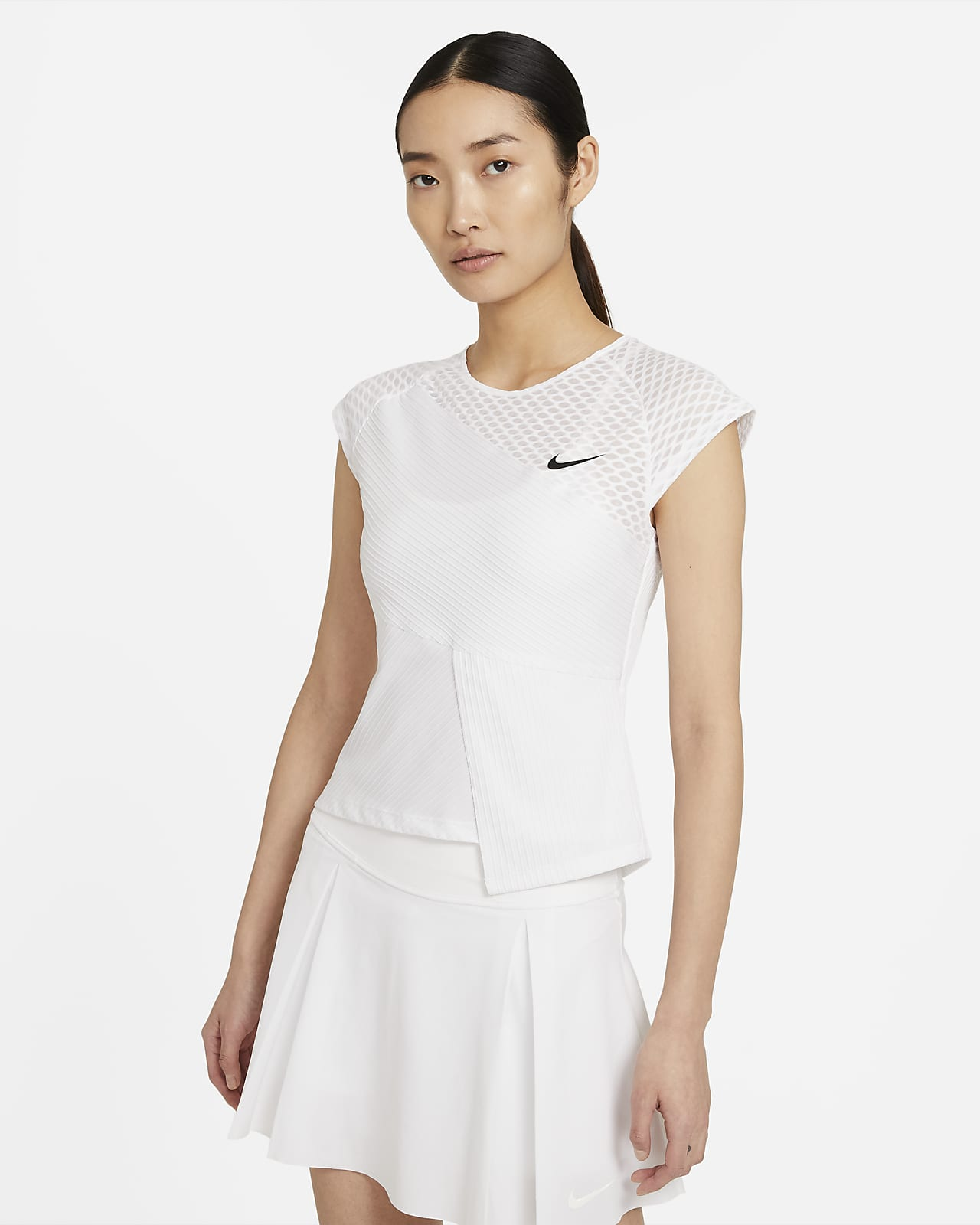 NikeCourt Dri-FIT ADV Slam Camiseta de tenis - Mujer