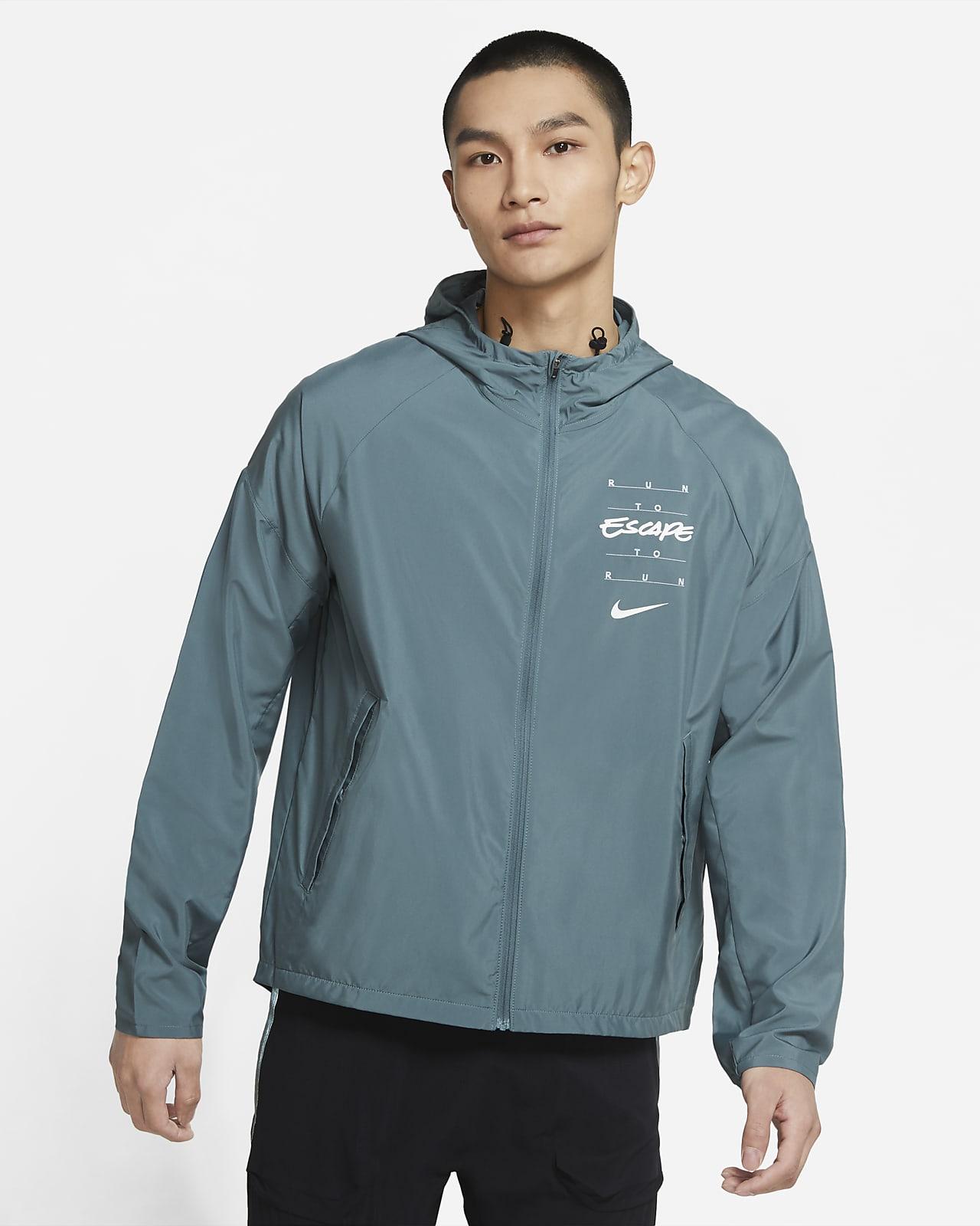 Nike Essential Wild Run 男子印花跑步夹克