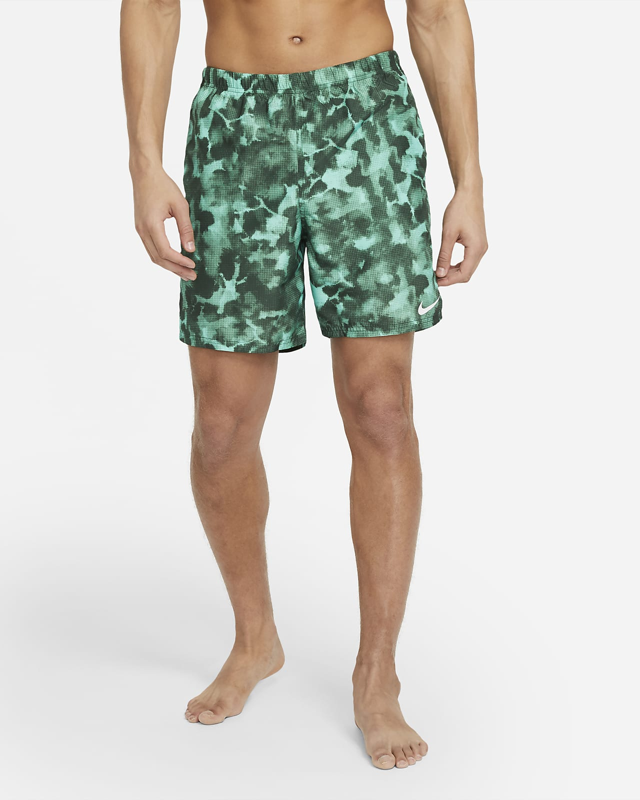 "Nike Men's 7"" Packable Swim Trunks"