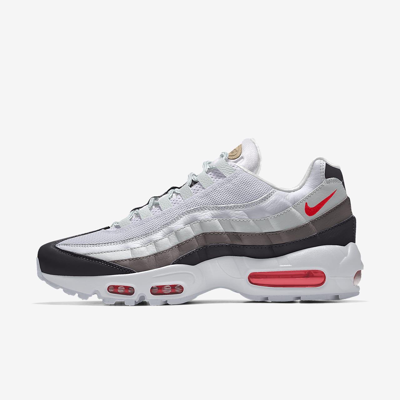 Nike Air Max 95 Premium By You egyedi cipő