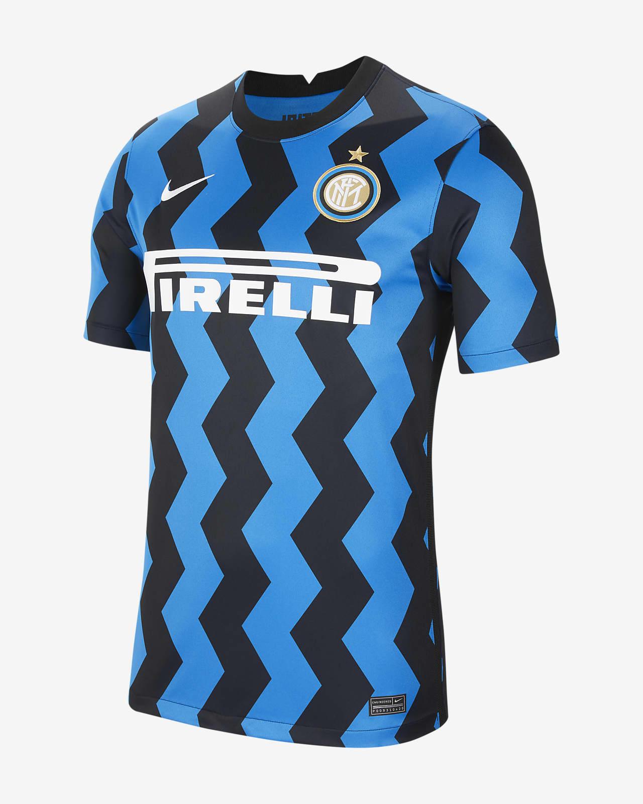 Inter Milan 2020/21 Stadium (hjemmedrakt) fotballdrakt til herre