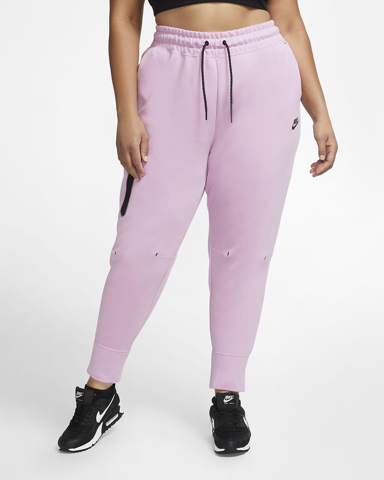 Nike Sportswear Tech Fleece bukse til dame (store størrelser)