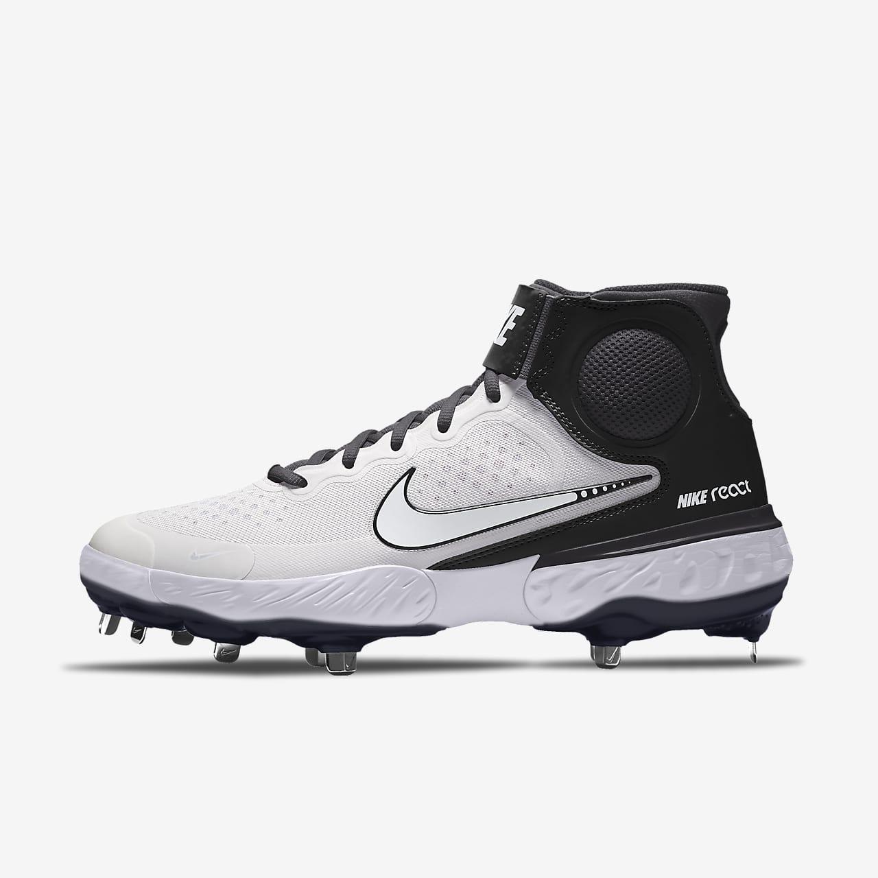 Nike Alpha Huarache Elite 3 Mid By You Custom Baseball Boot