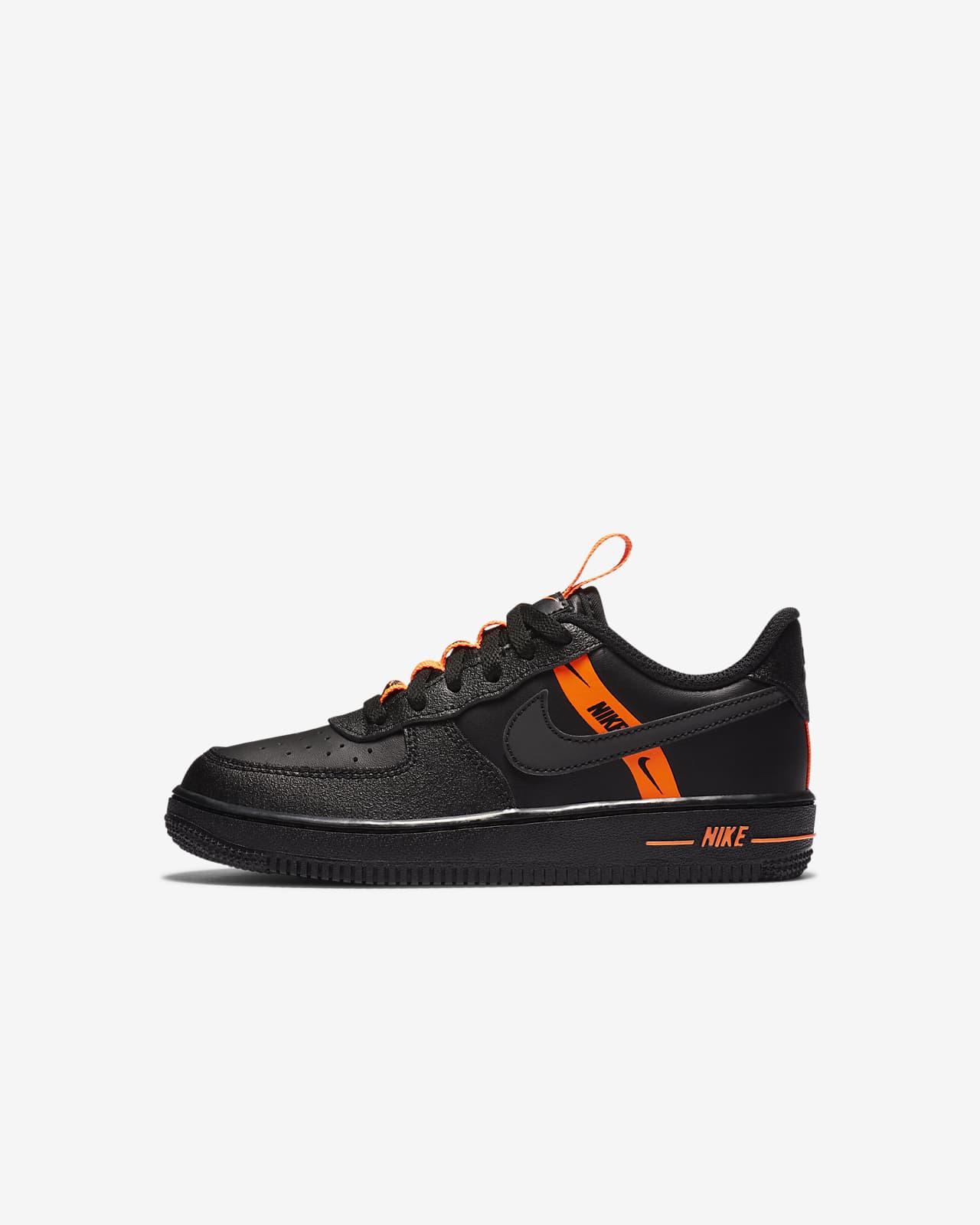 air force 1 noir et orange