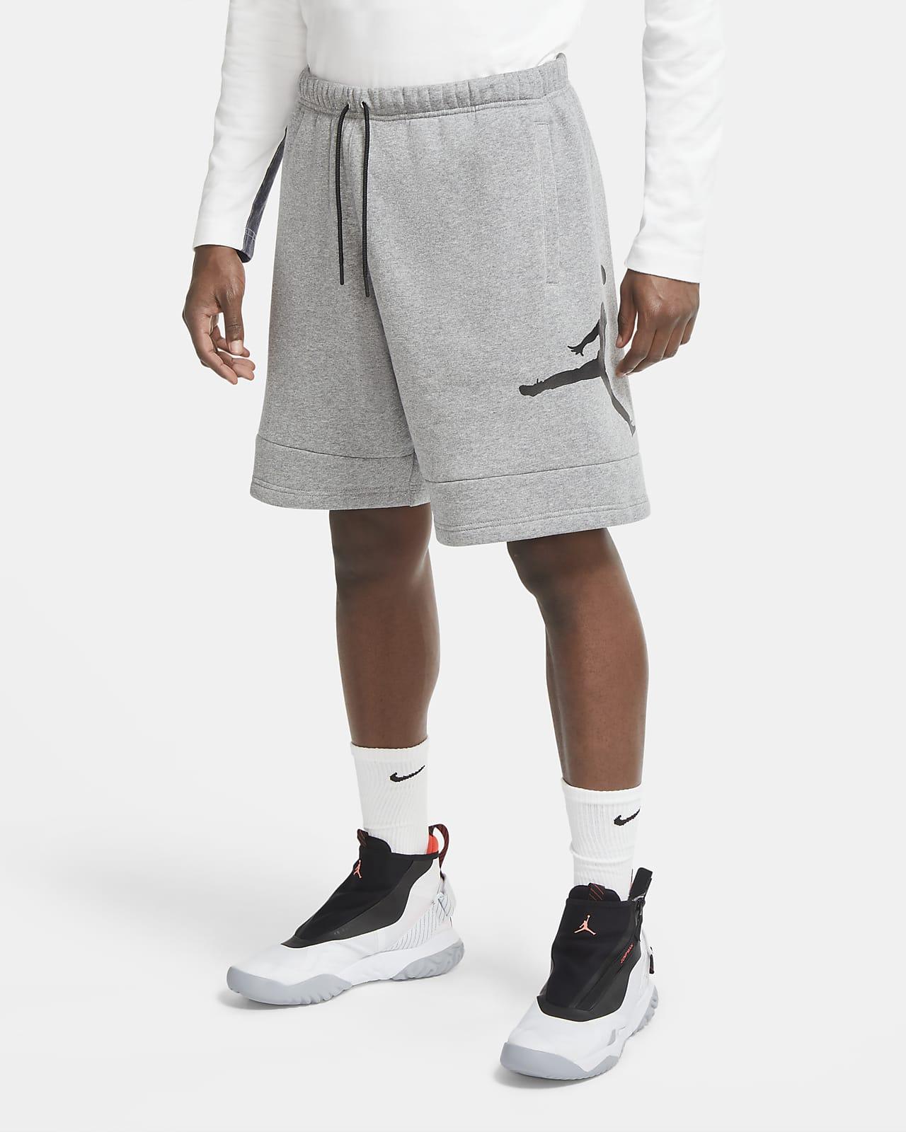 Shorts de tejido Fleece para hombre Jordan Jumpman Air