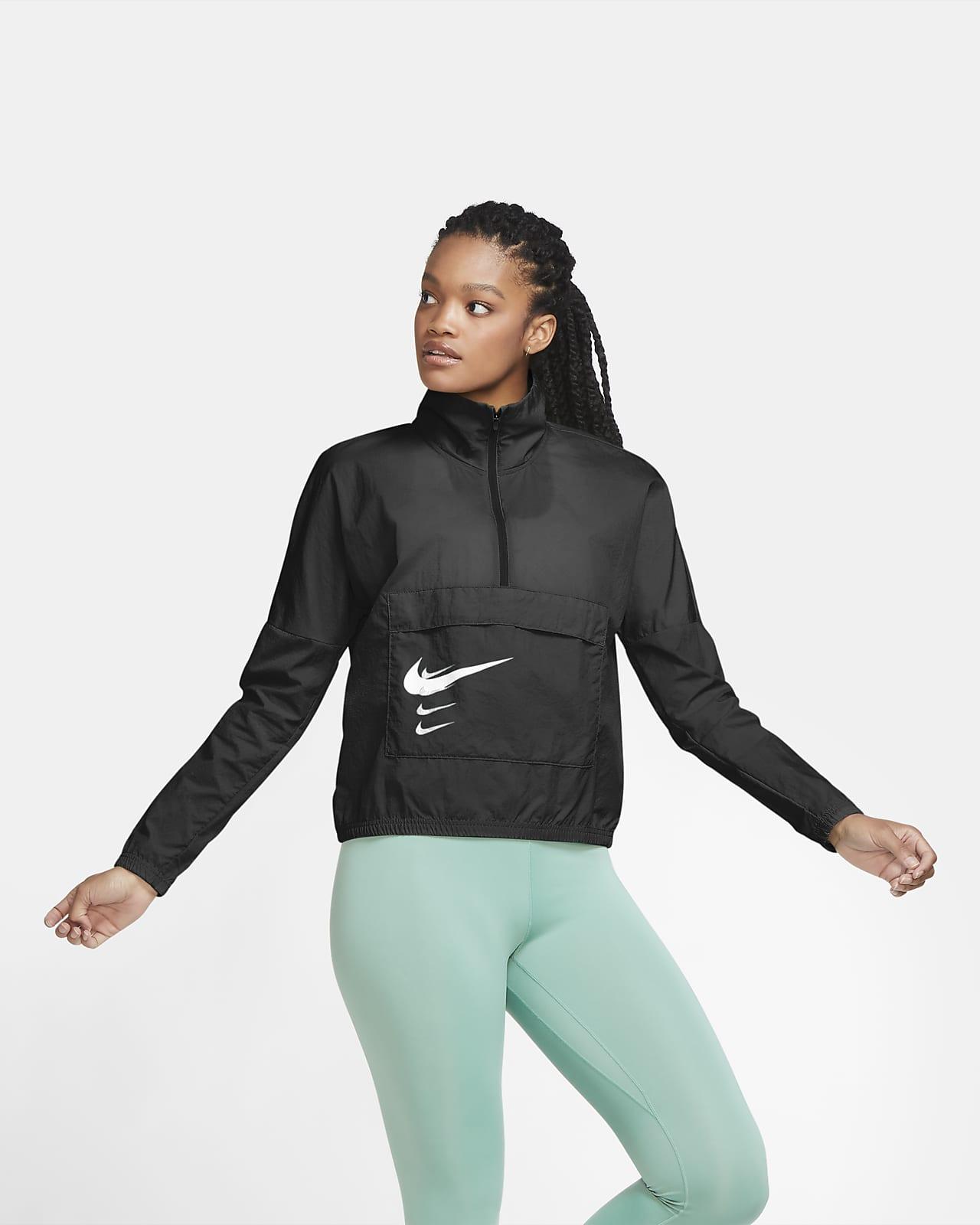 Chamarra de running sin cierre para mujer Nike Swoosh Run