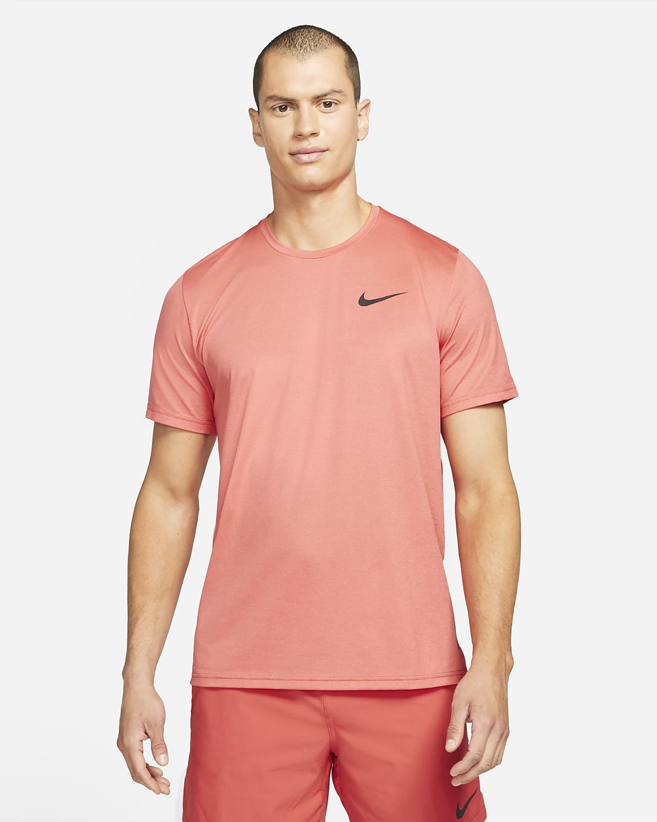 Prenda para la parte superior de manga corta para hombre Nike Pro Dri-FIT