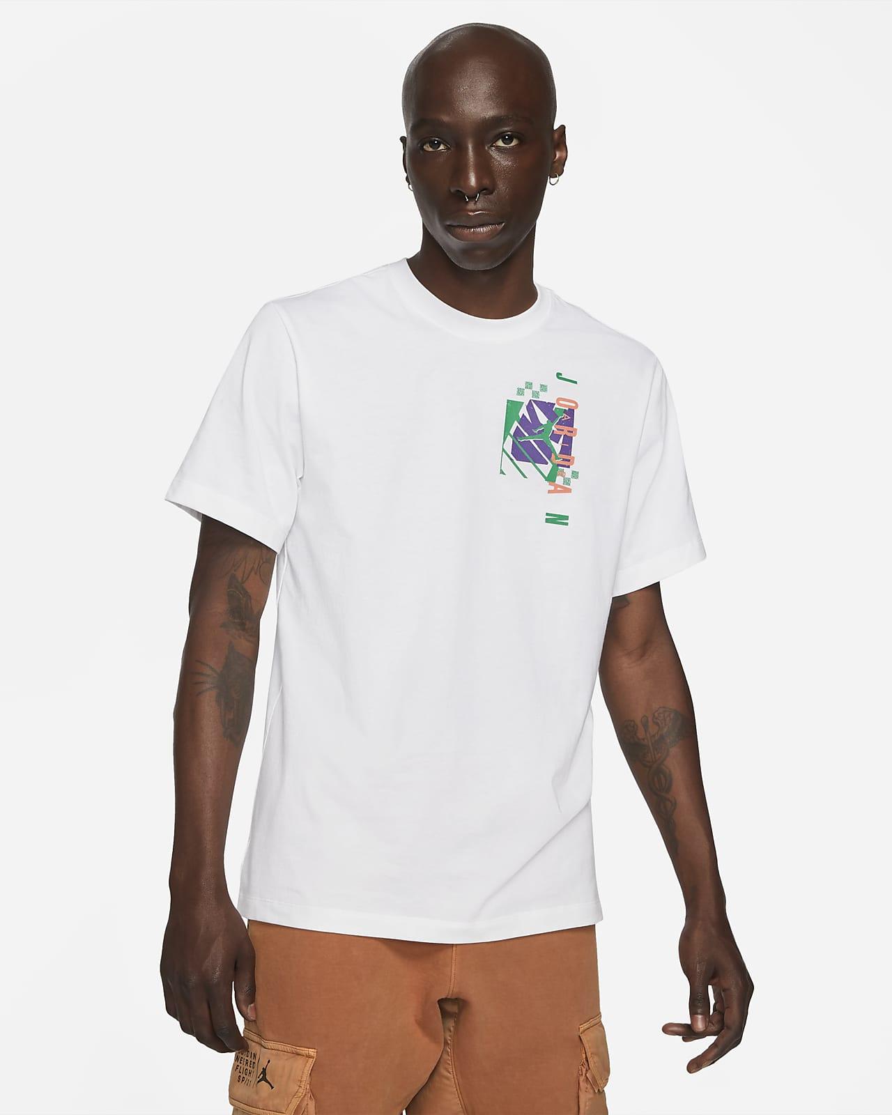 เสื้อยืดแขนสั้นผู้ชาย Jordan Air Futura