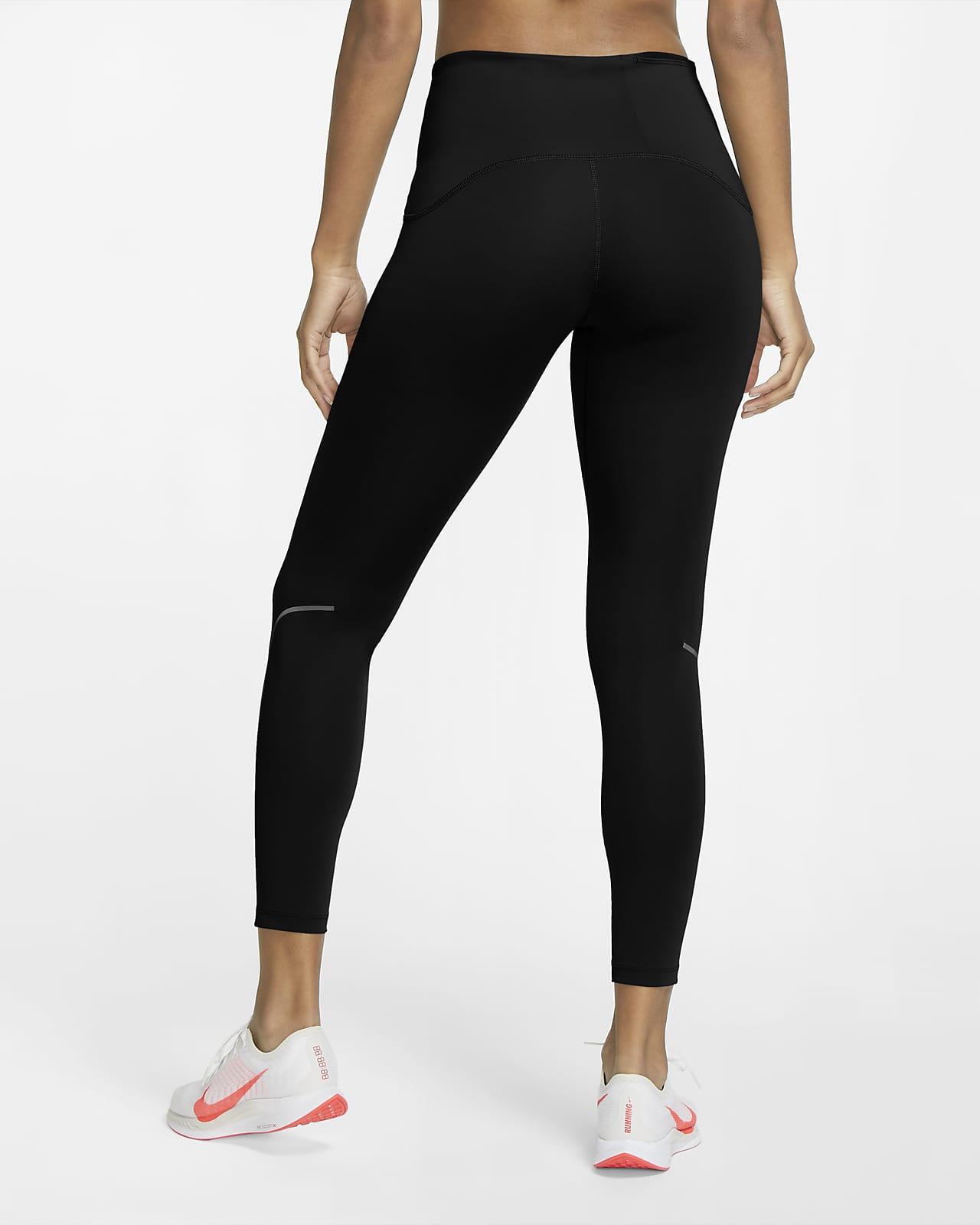 Nike Speed-matte løbetights i 7/8-længde til kvinder