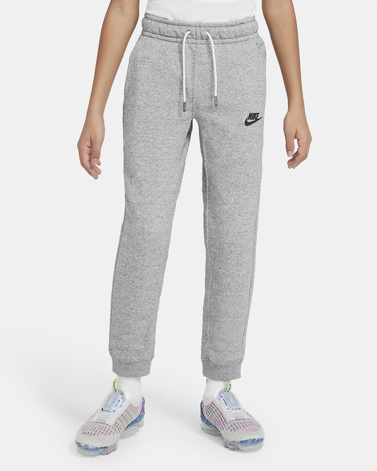 Pantalones de entrenamiento para niños talla grande Nike Sportswear Zero