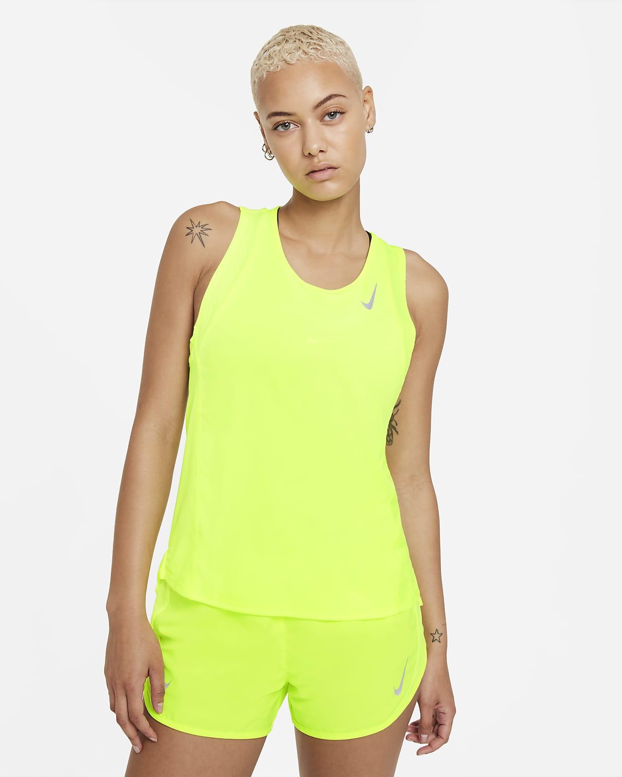 Camiseta sin mangas de running para mujer Nike Dri-FIT Race