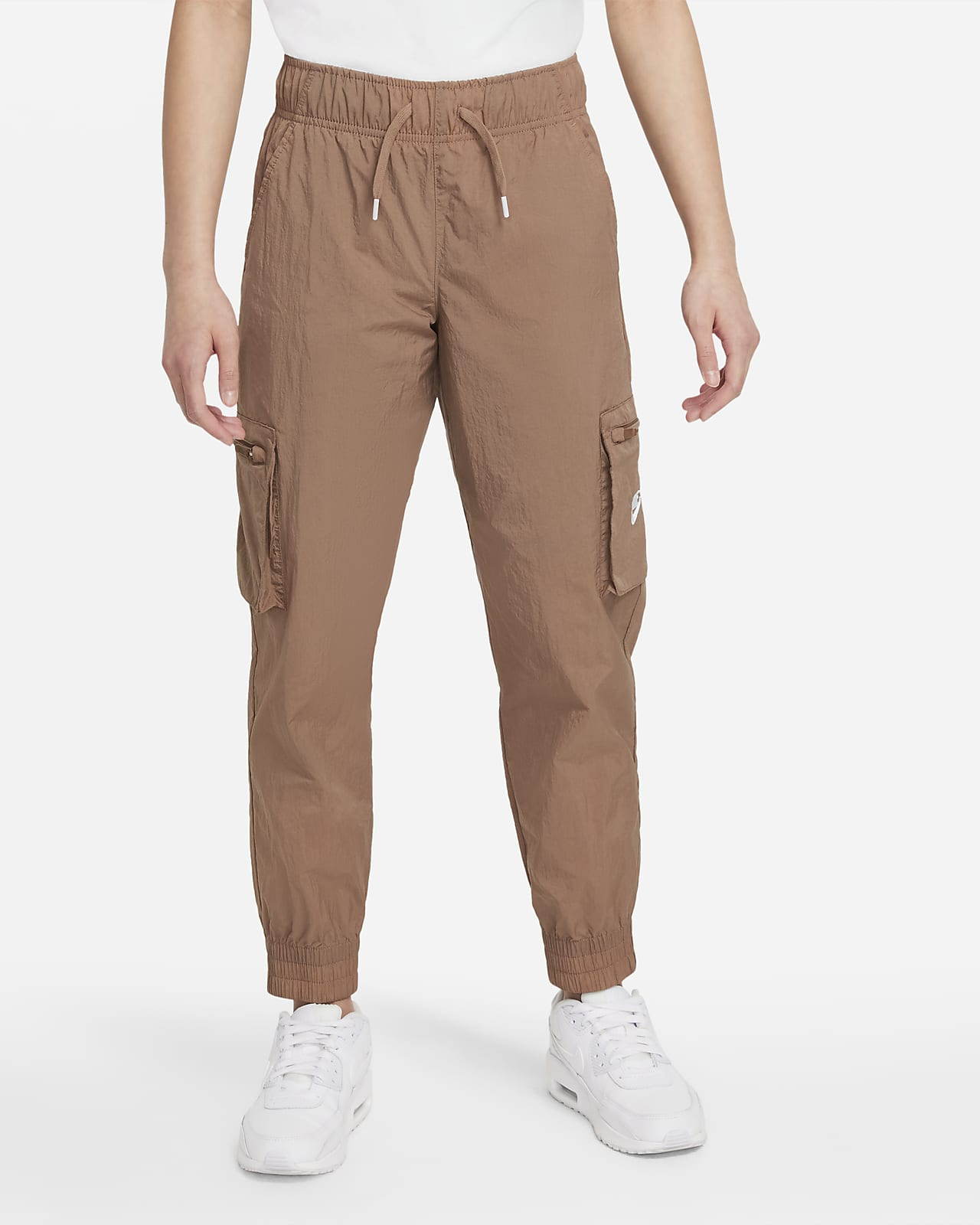 Pantalones cargo de tejido Woven para niñas talla grande Nike Sportswear