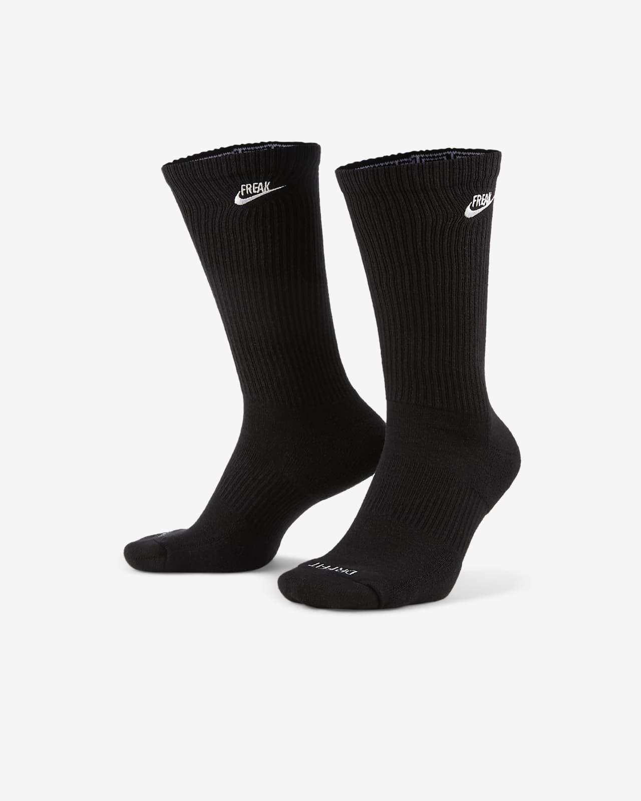 ถุงเท้าบาสเก็ตบอลข้อยาว Nike Everyday Plus Cushioned