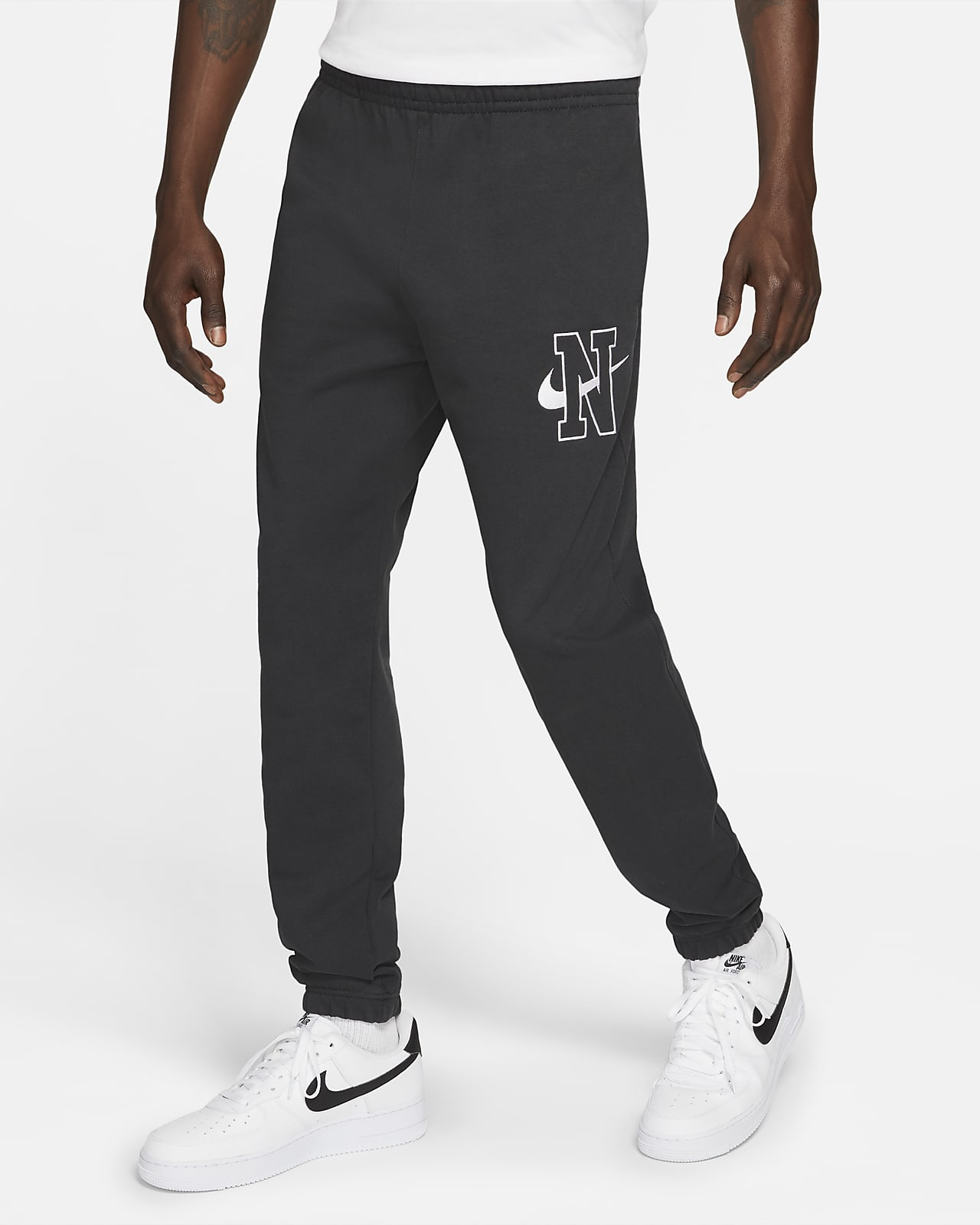 Pantalon en tissu Fleece Nike Sportswear Club pour Homme. Nike LU