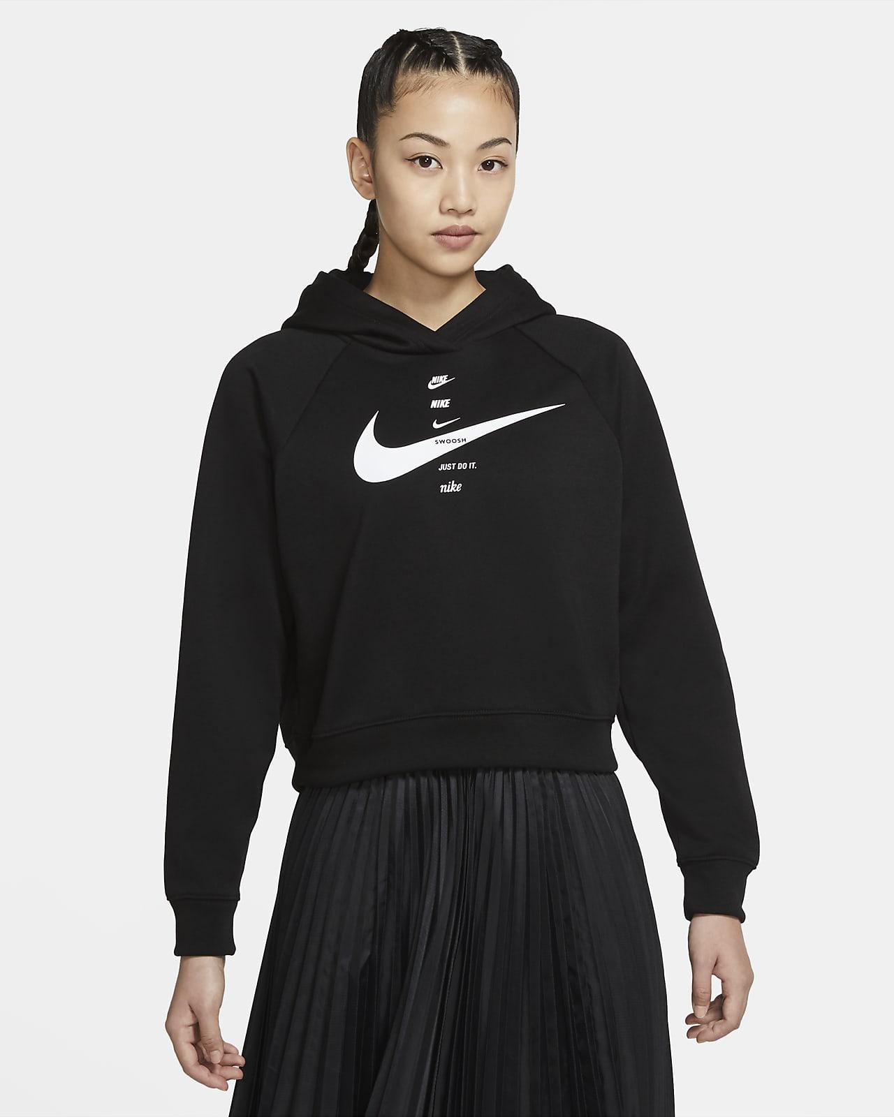 Nike Sportswear Swoosh Kadın Kapüşonlu Üst